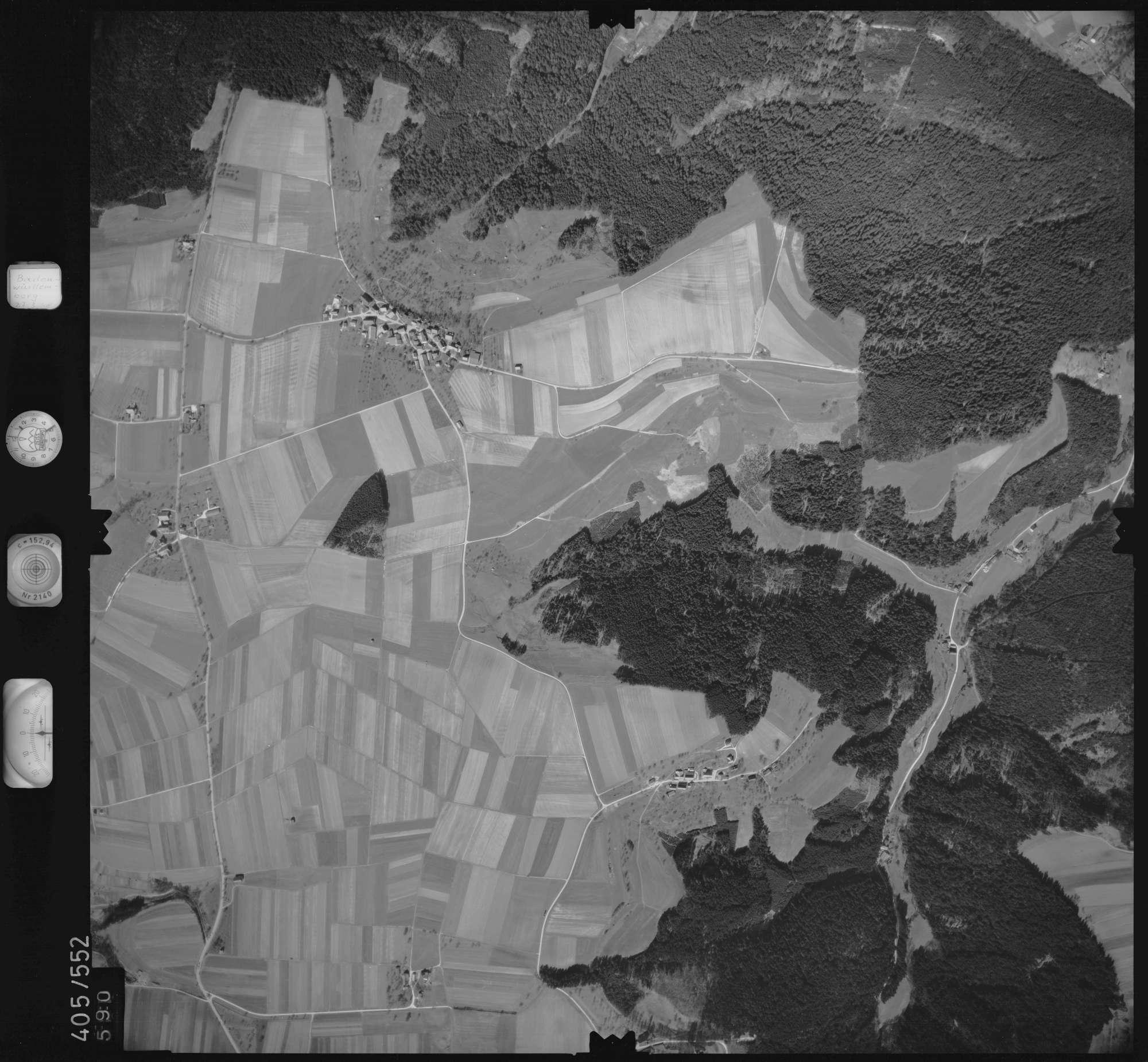 Luftbild: Film 10 Bildnr. 590, Bild 1