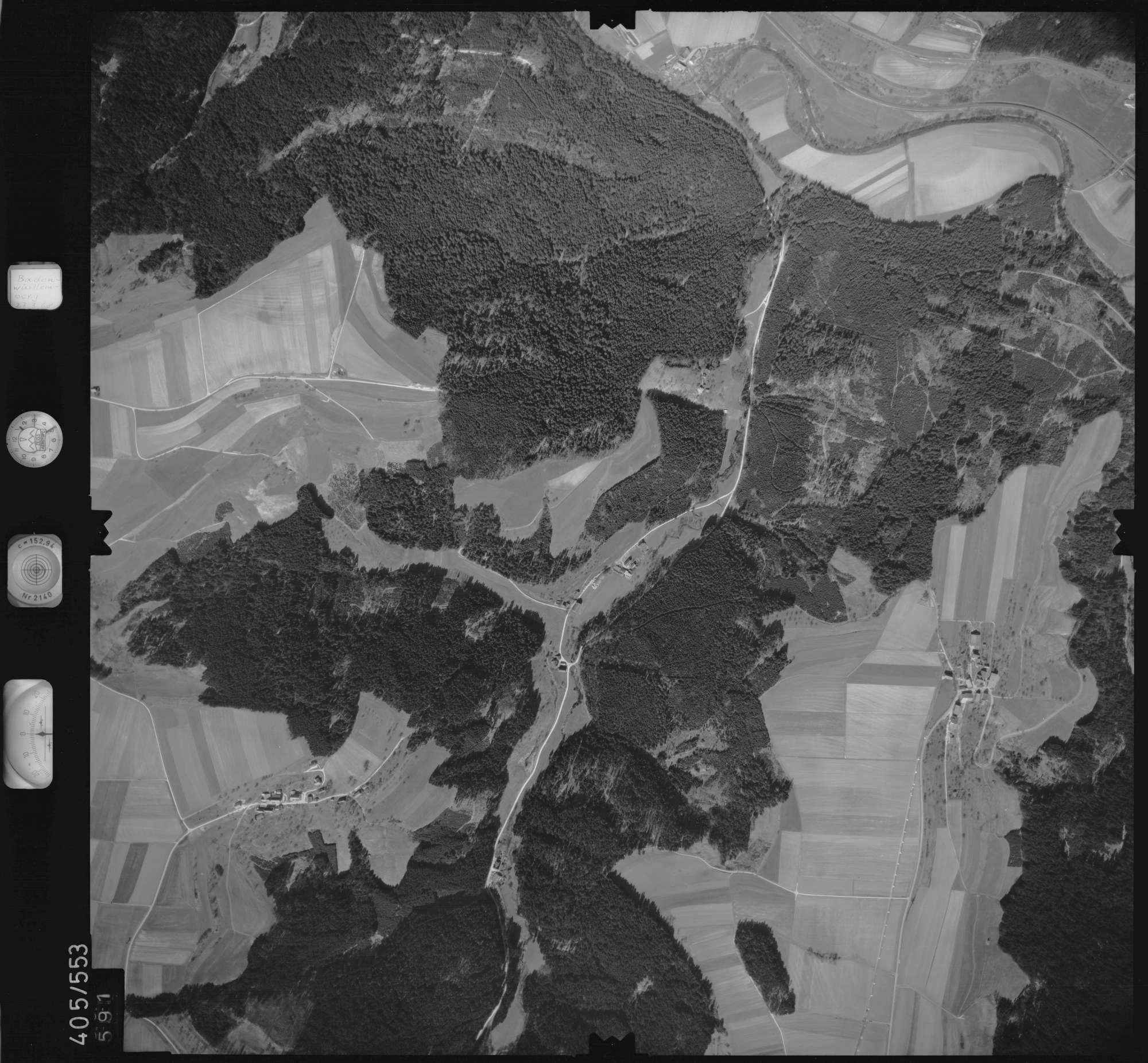Luftbild: Film 10 Bildnr. 591, Bild 1