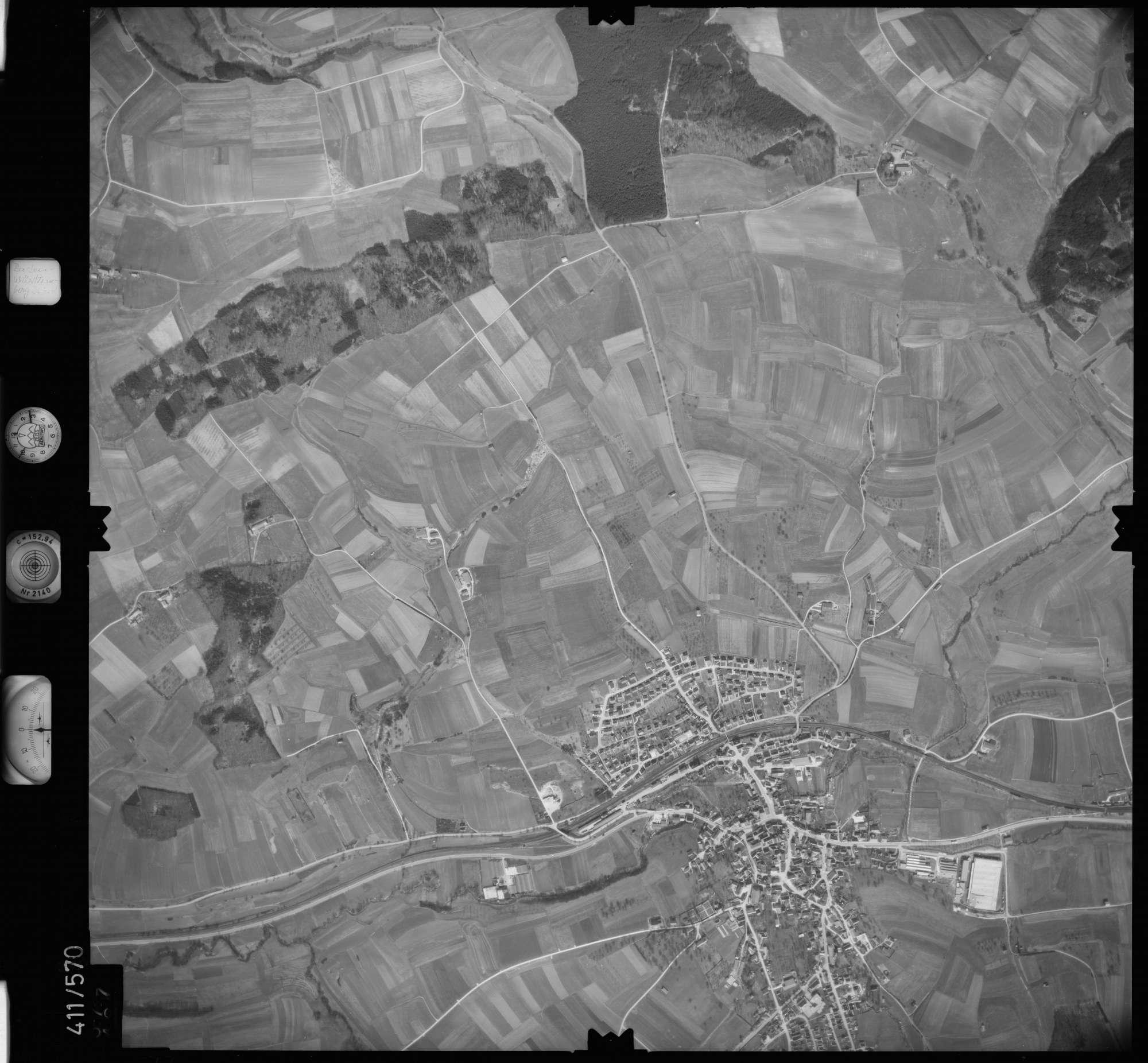 Luftbild: Film 7 Bildnr. 577, Bild 1