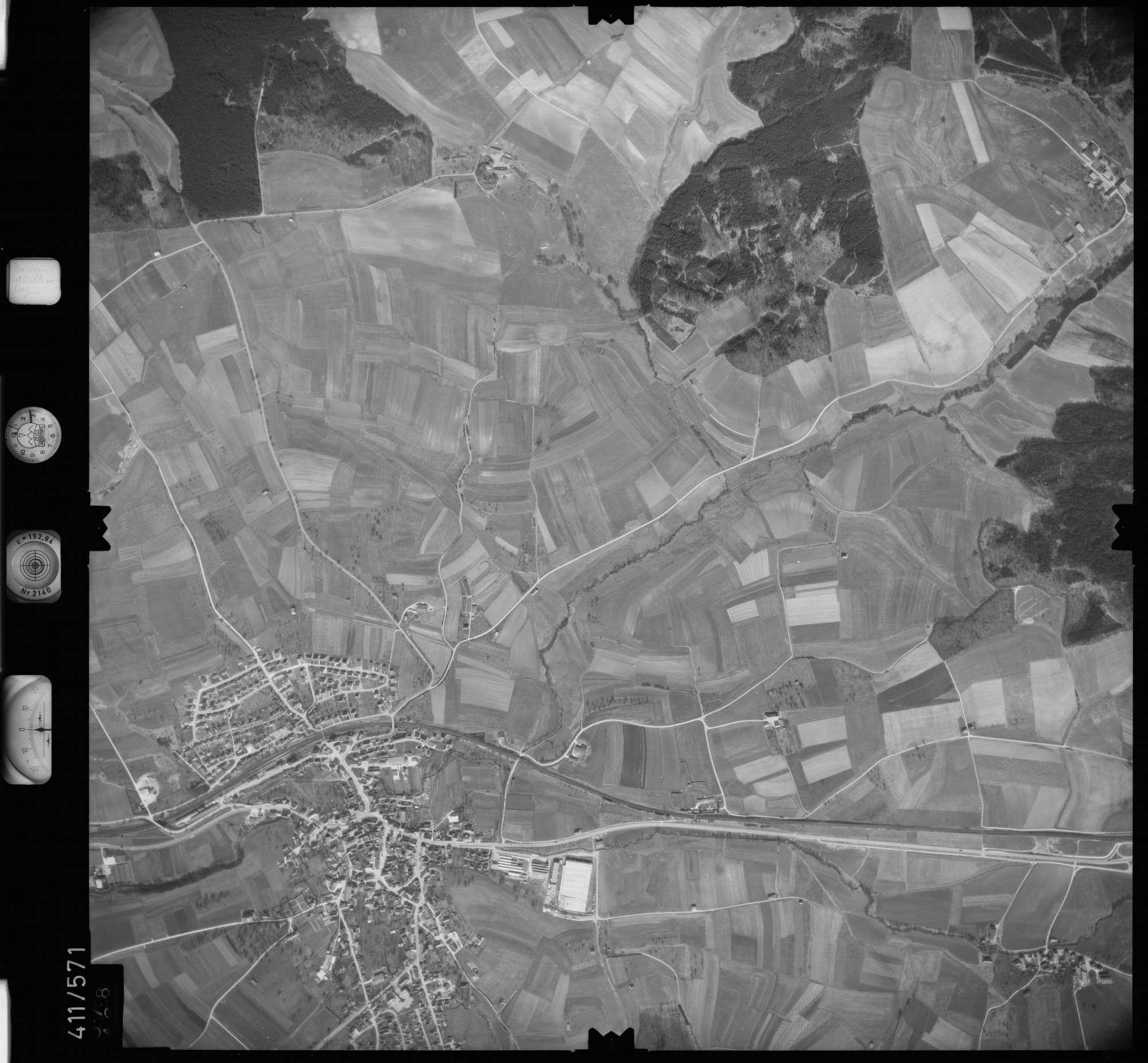 Luftbild: Film 7 Bildnr. 578, Bild 1