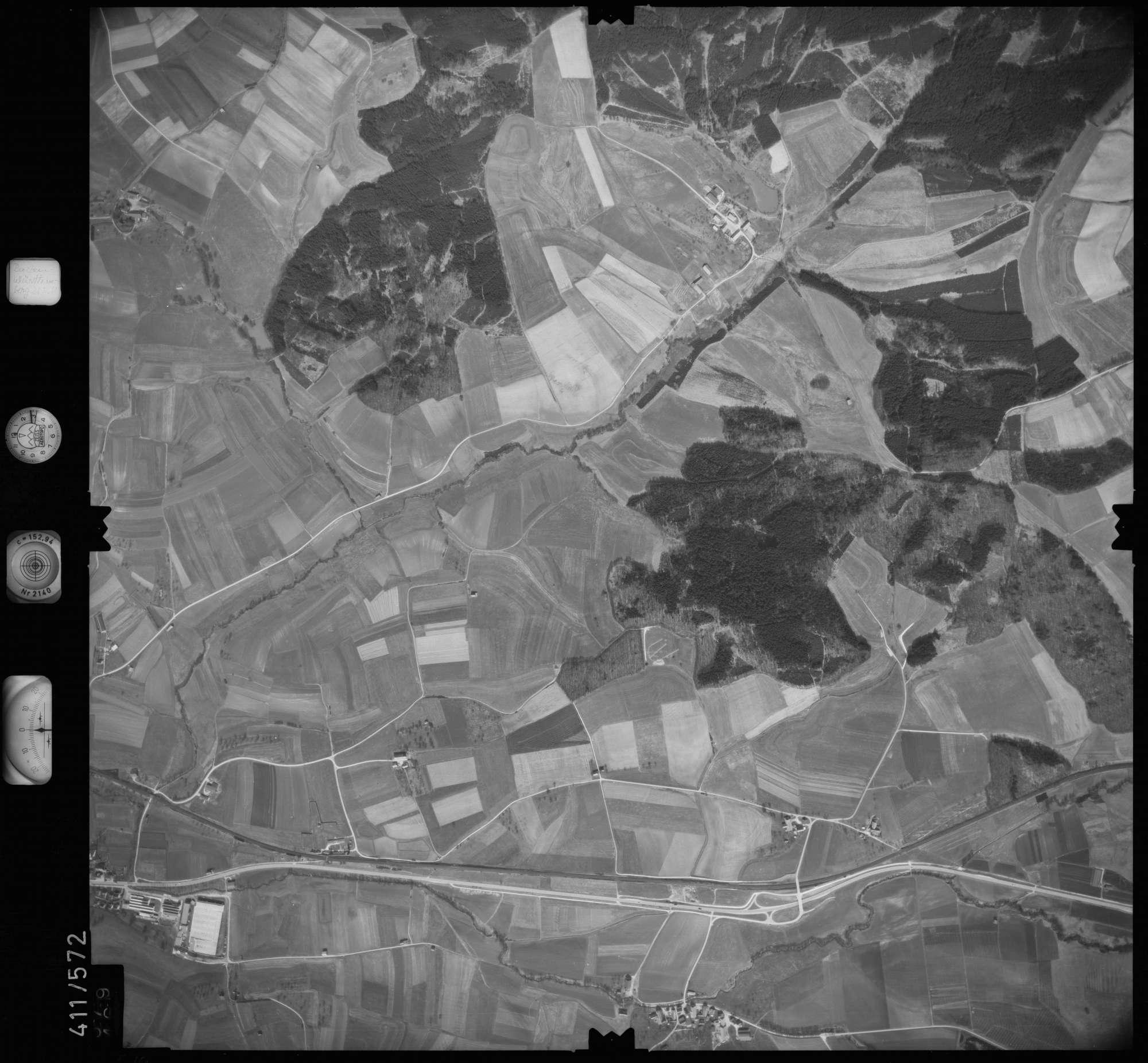Luftbild: Film 7 Bildnr. 579, Bild 1
