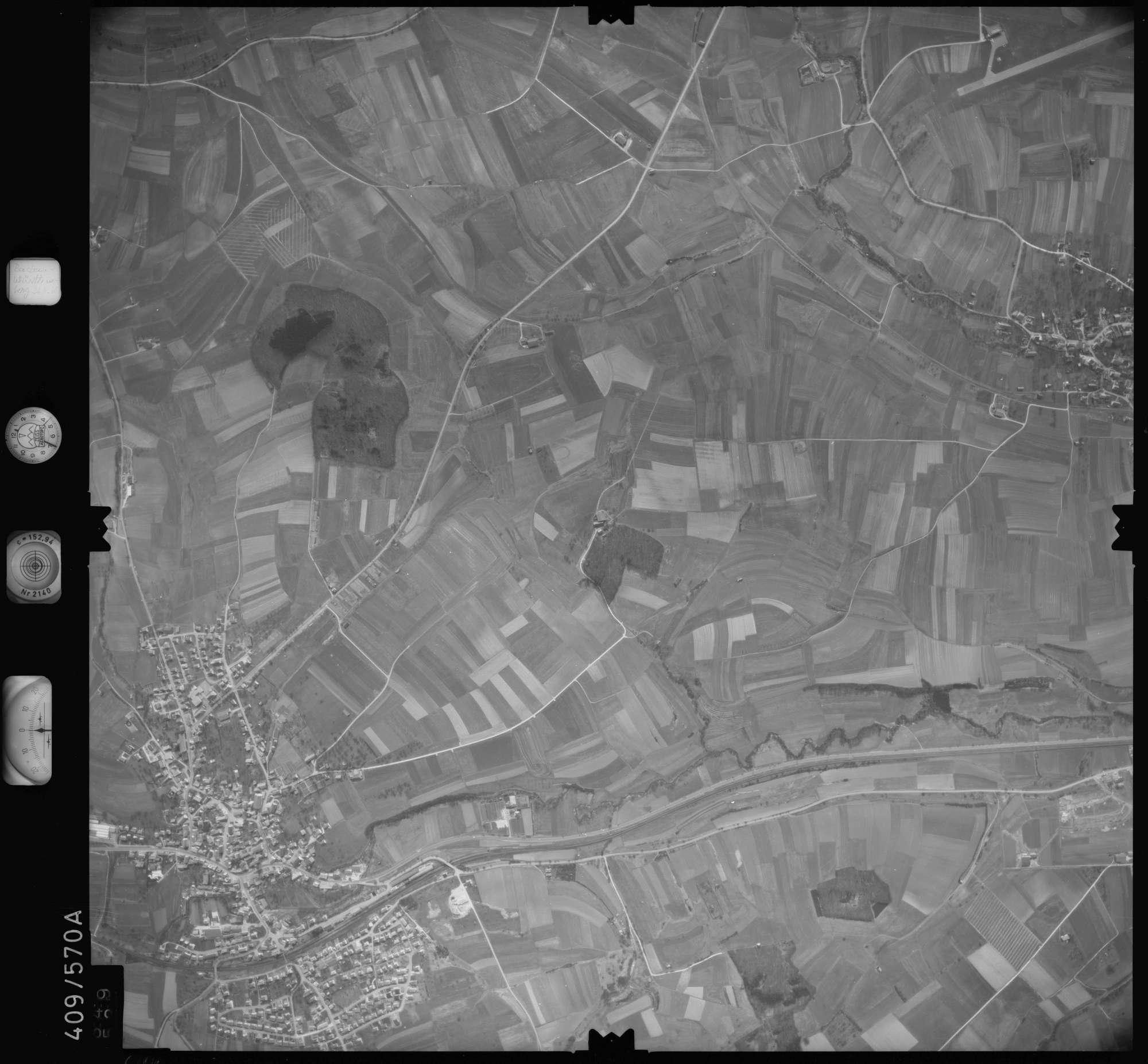 Luftbild: Film 7 Bildnr. 649, Bild 1