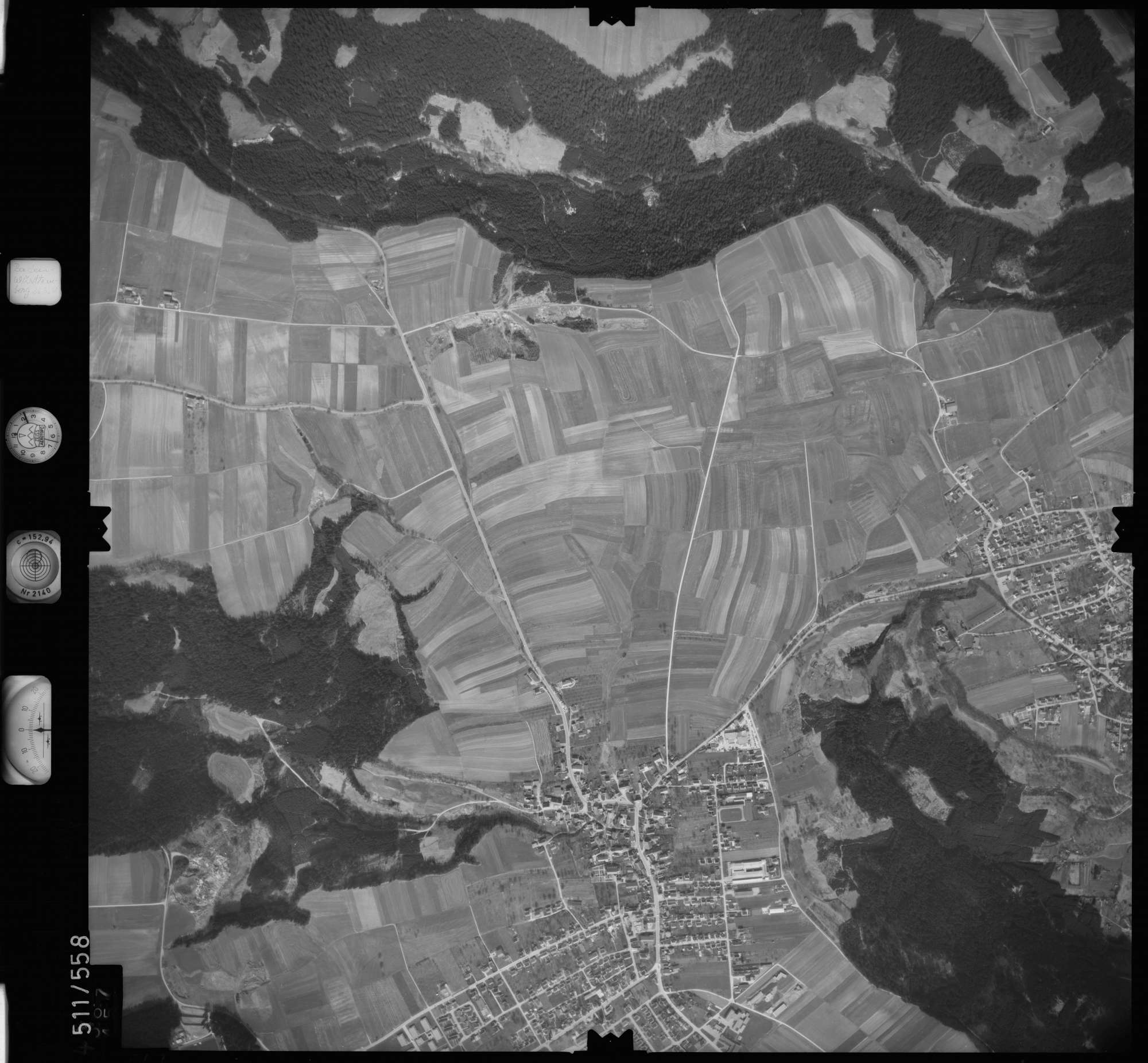 Luftbild: Film 7 Bildnr. 567, Bild 1