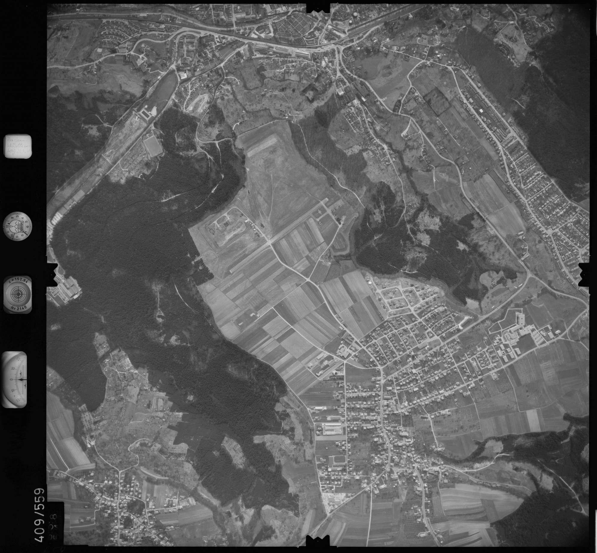 Luftbild: Film 7 Bildnr. 658, Bild 1