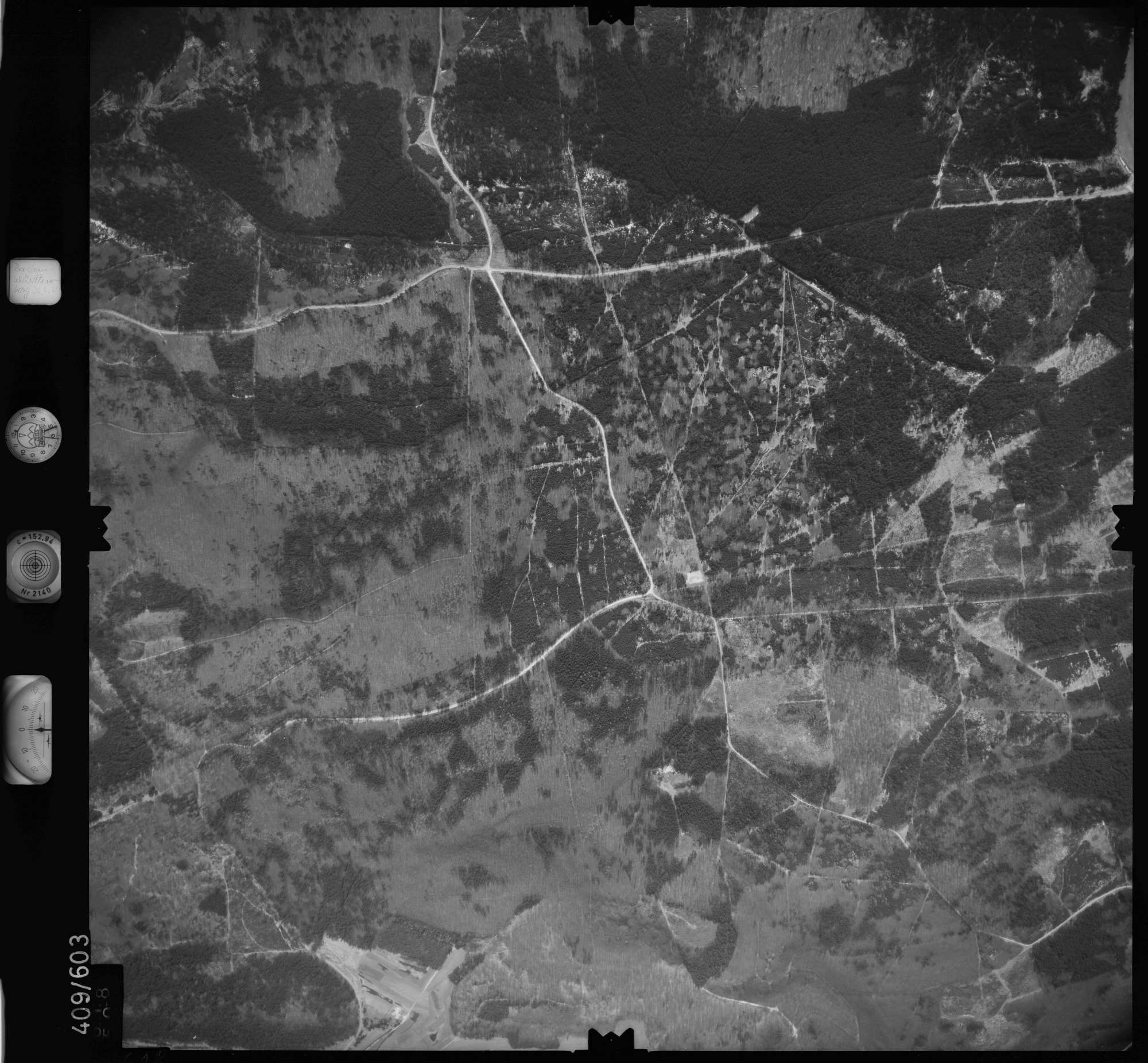 Luftbild: Film 7 Bildnr. 618, Bild 1