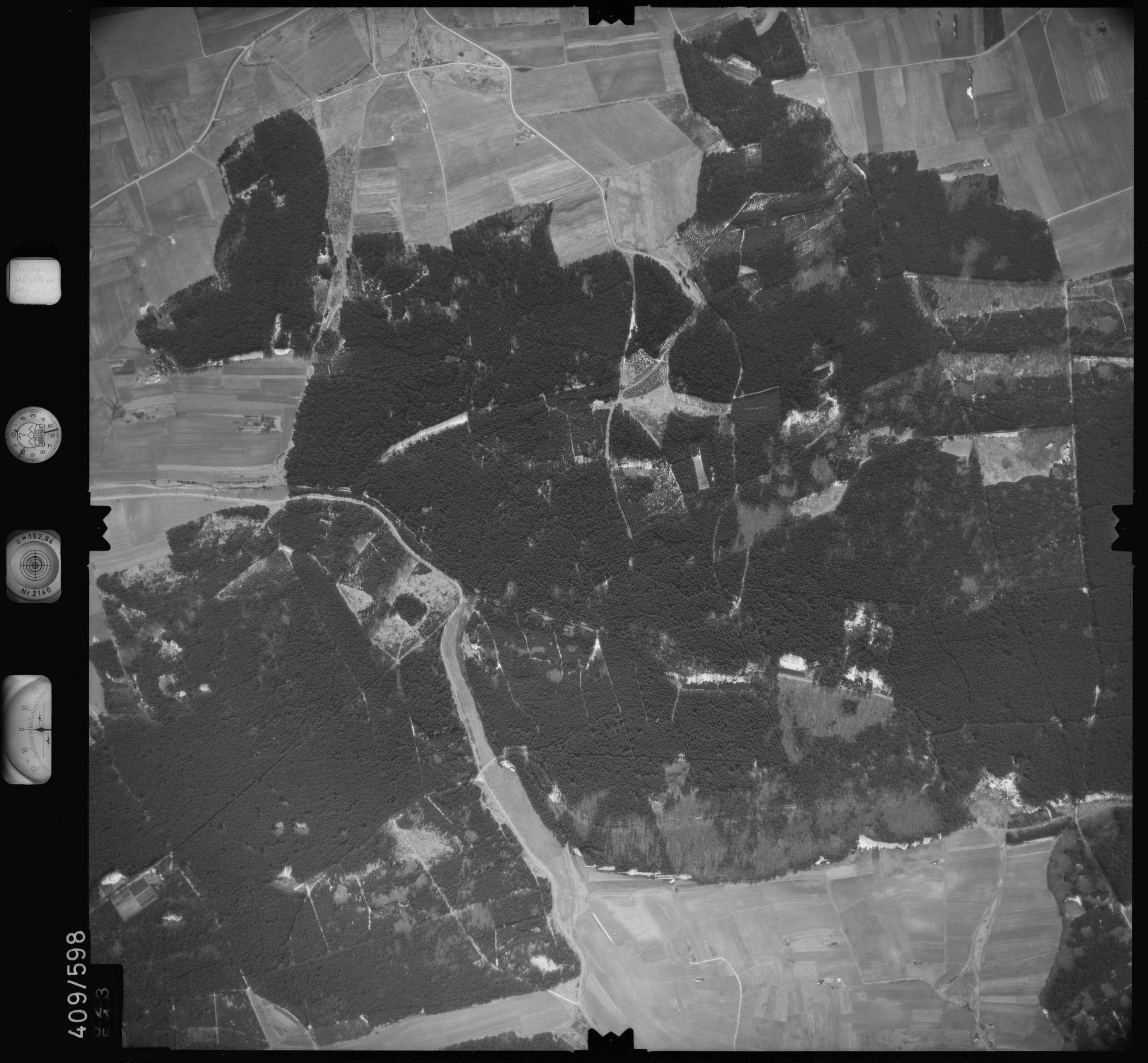 Luftbild: Film 7 Bildnr. 623, Bild 1