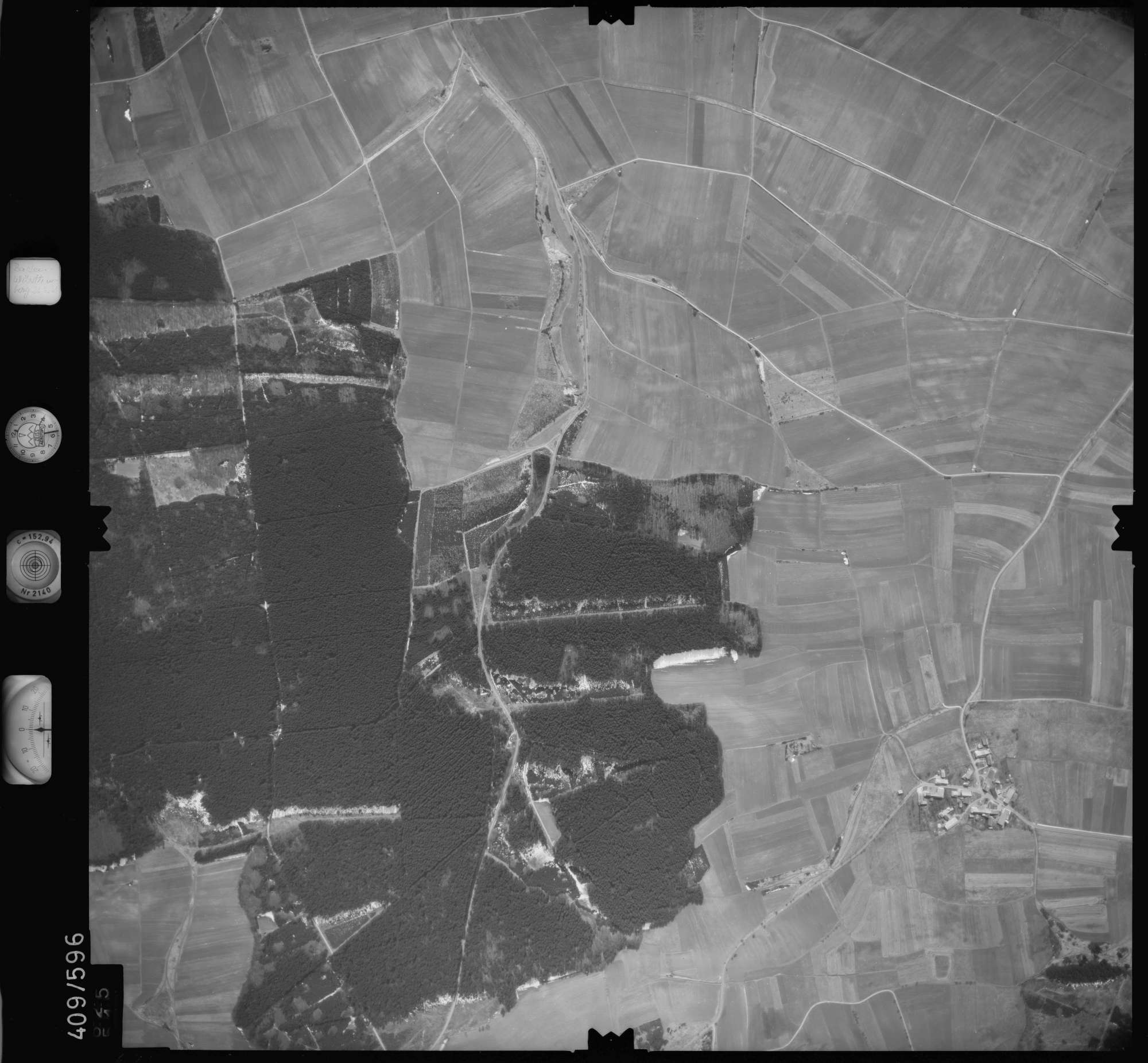 Luftbild: Film 7 Bildnr. 625, Bild 1