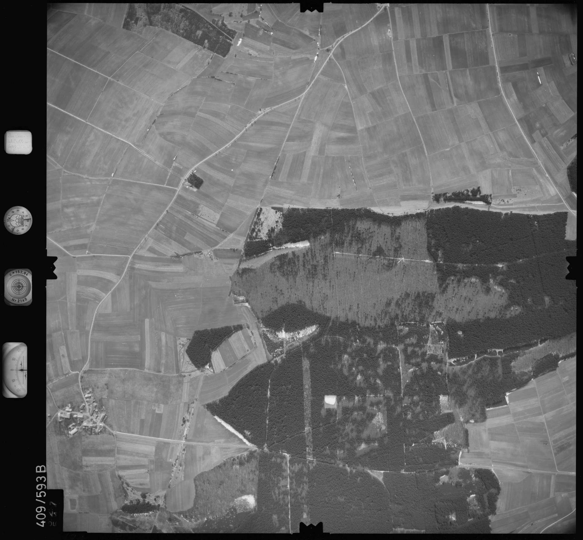 Luftbild: Film 7 Bildnr. 627, Bild 1