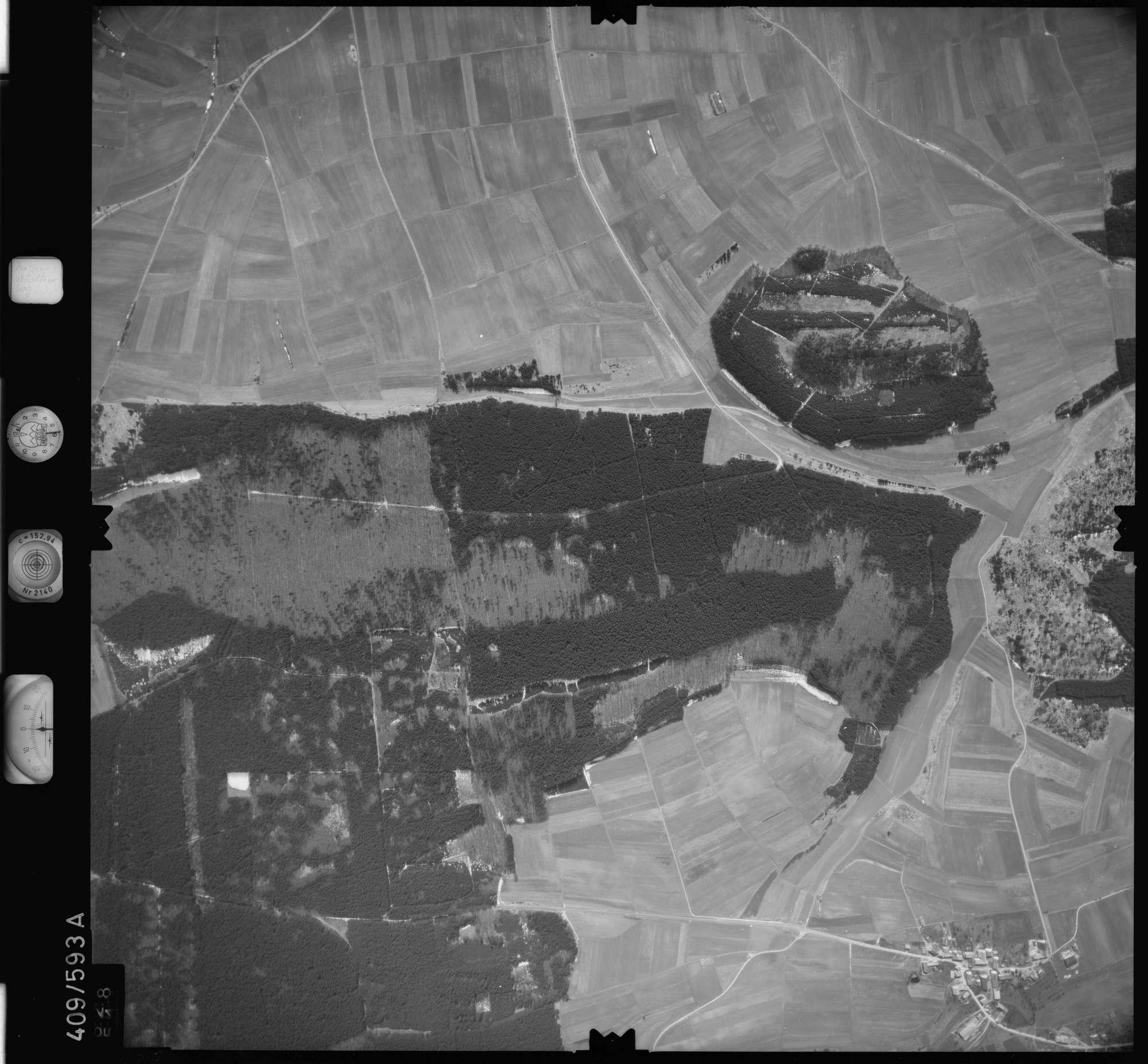 Luftbild: Film 7 Bildnr. 628, Bild 1