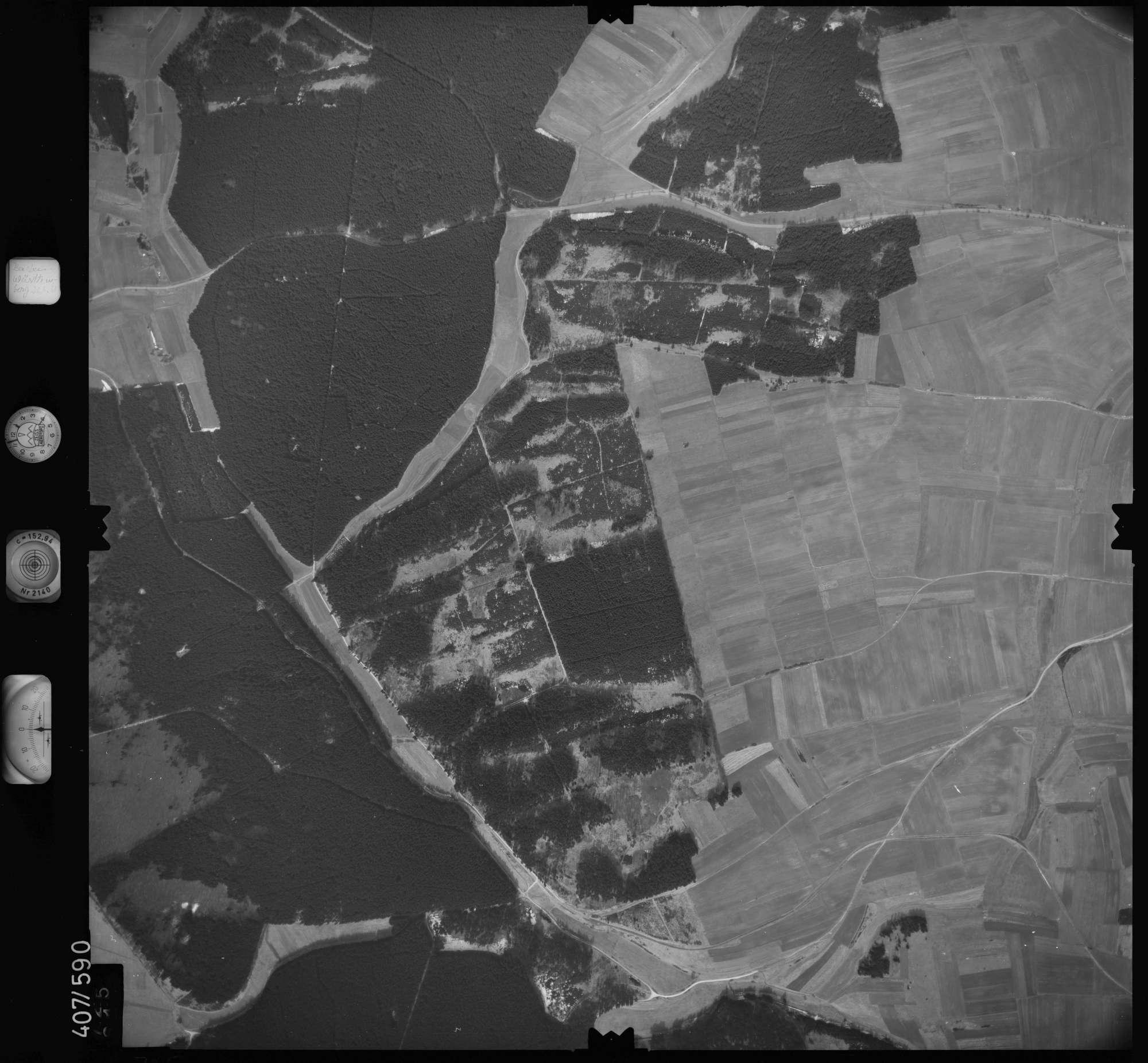 Luftbild: Film 7 Bildnr. 725, Bild 1