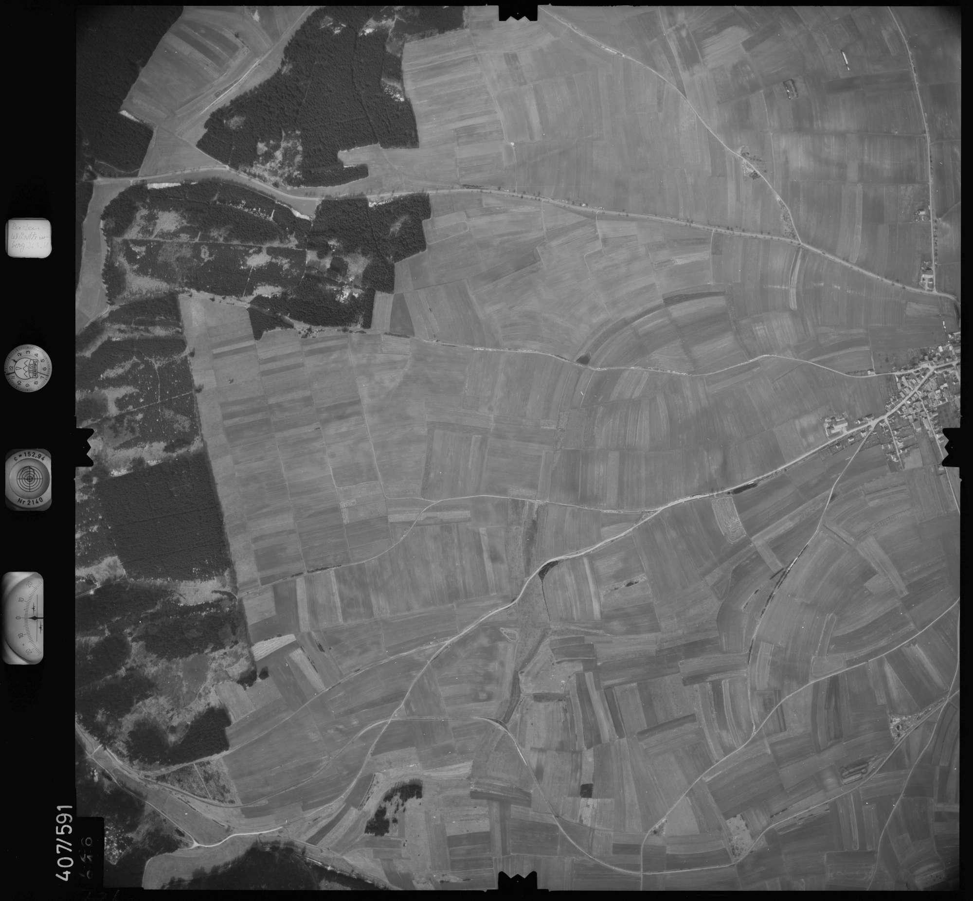 Luftbild: Film 7 Bildnr. 726, Bild 1