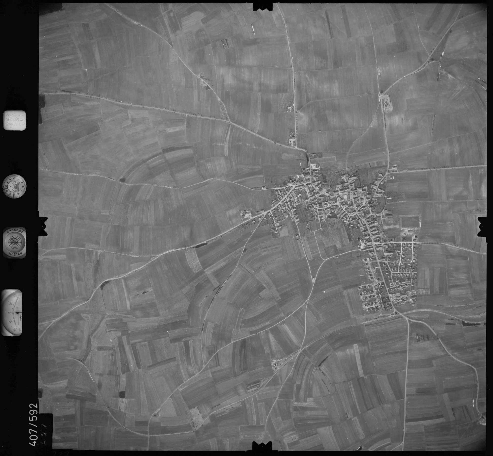 Luftbild: Film 7 Bildnr. 727, Bild 1