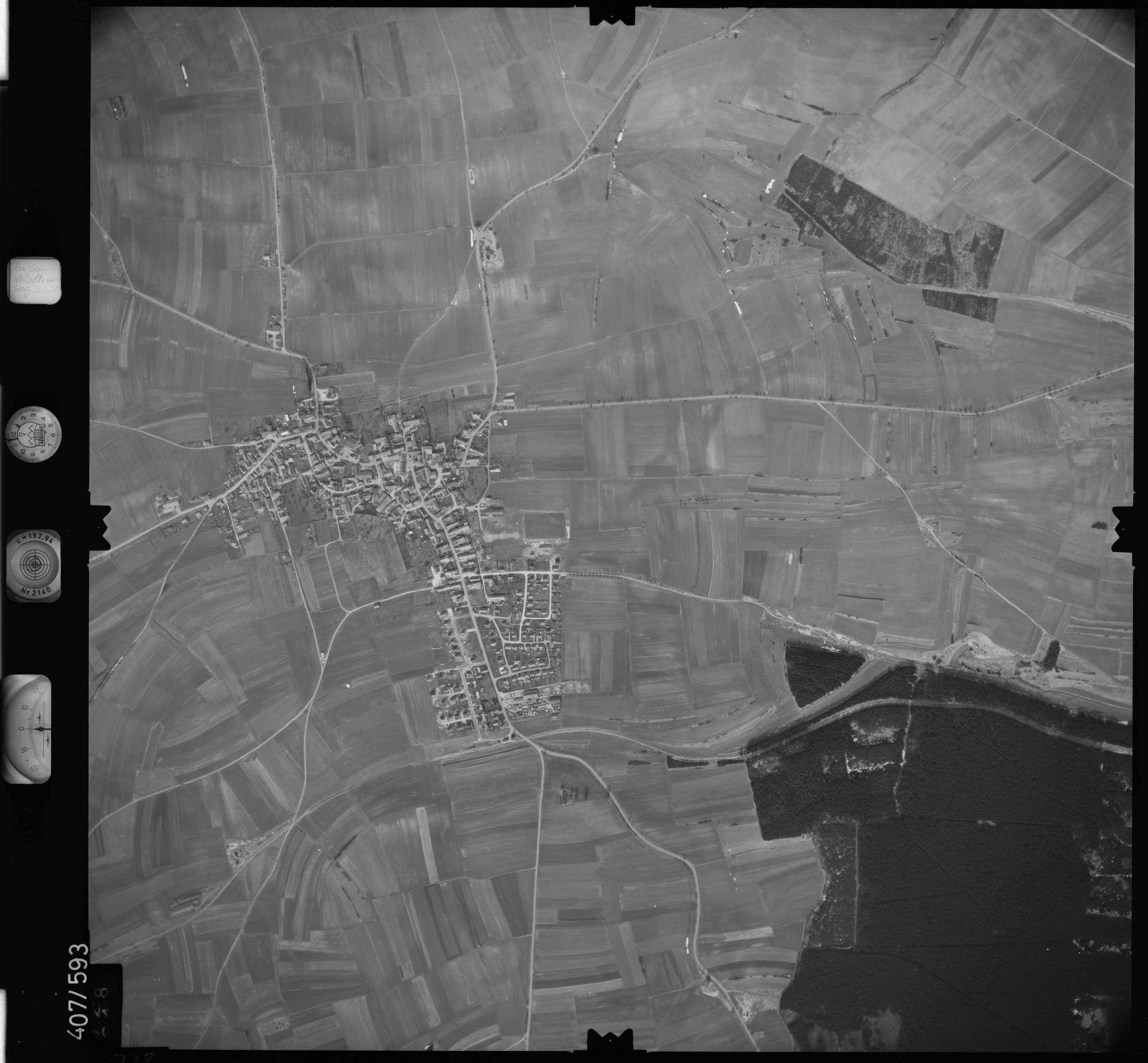 Luftbild: Film 7 Bildnr. 728, Bild 1