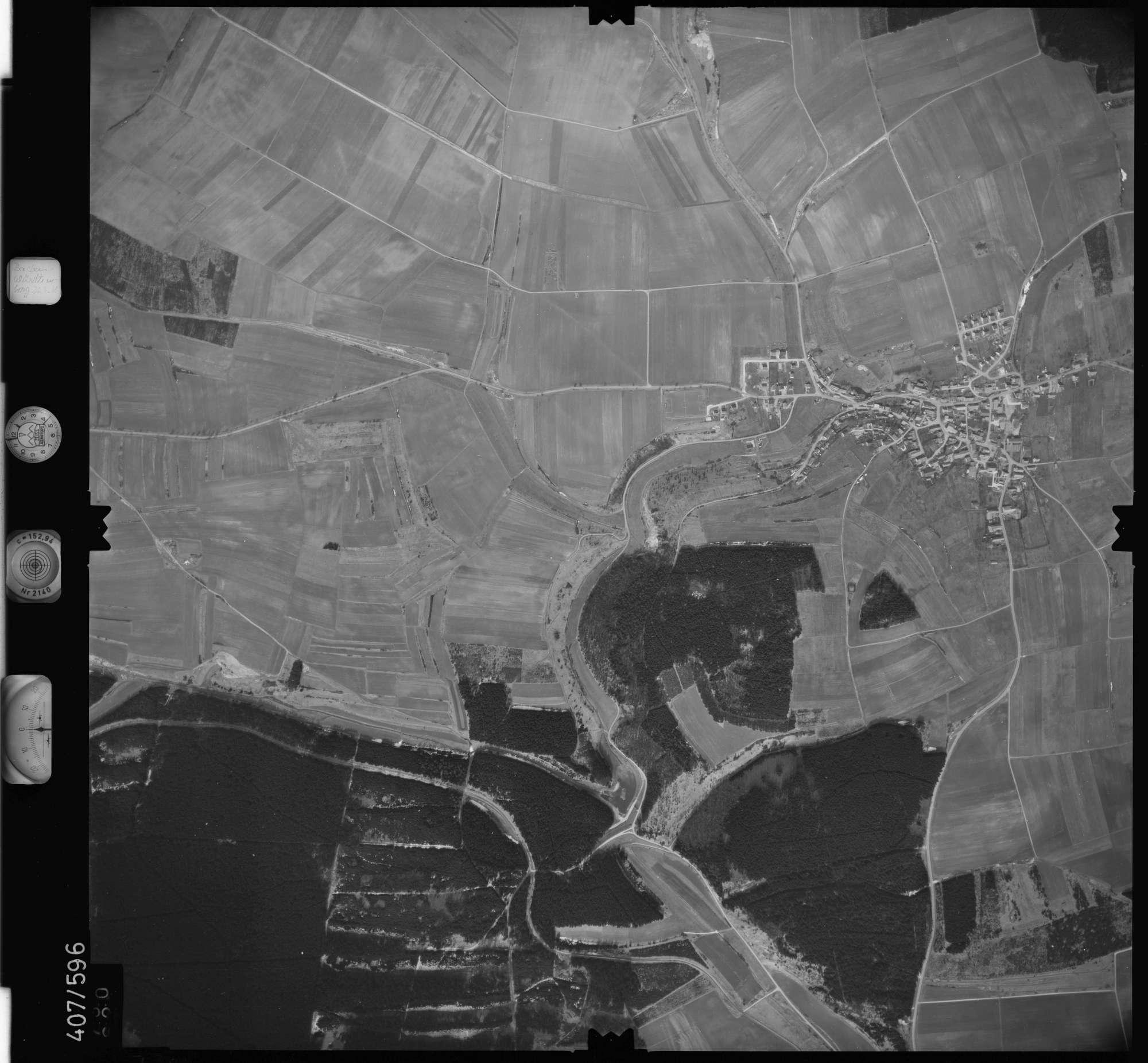 Luftbild: Film 7 Bildnr. 730, Bild 1