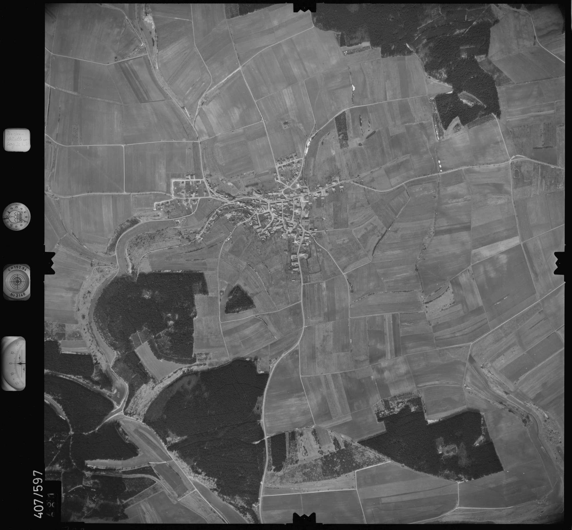 Luftbild: Film 7 Bildnr. 731, Bild 1
