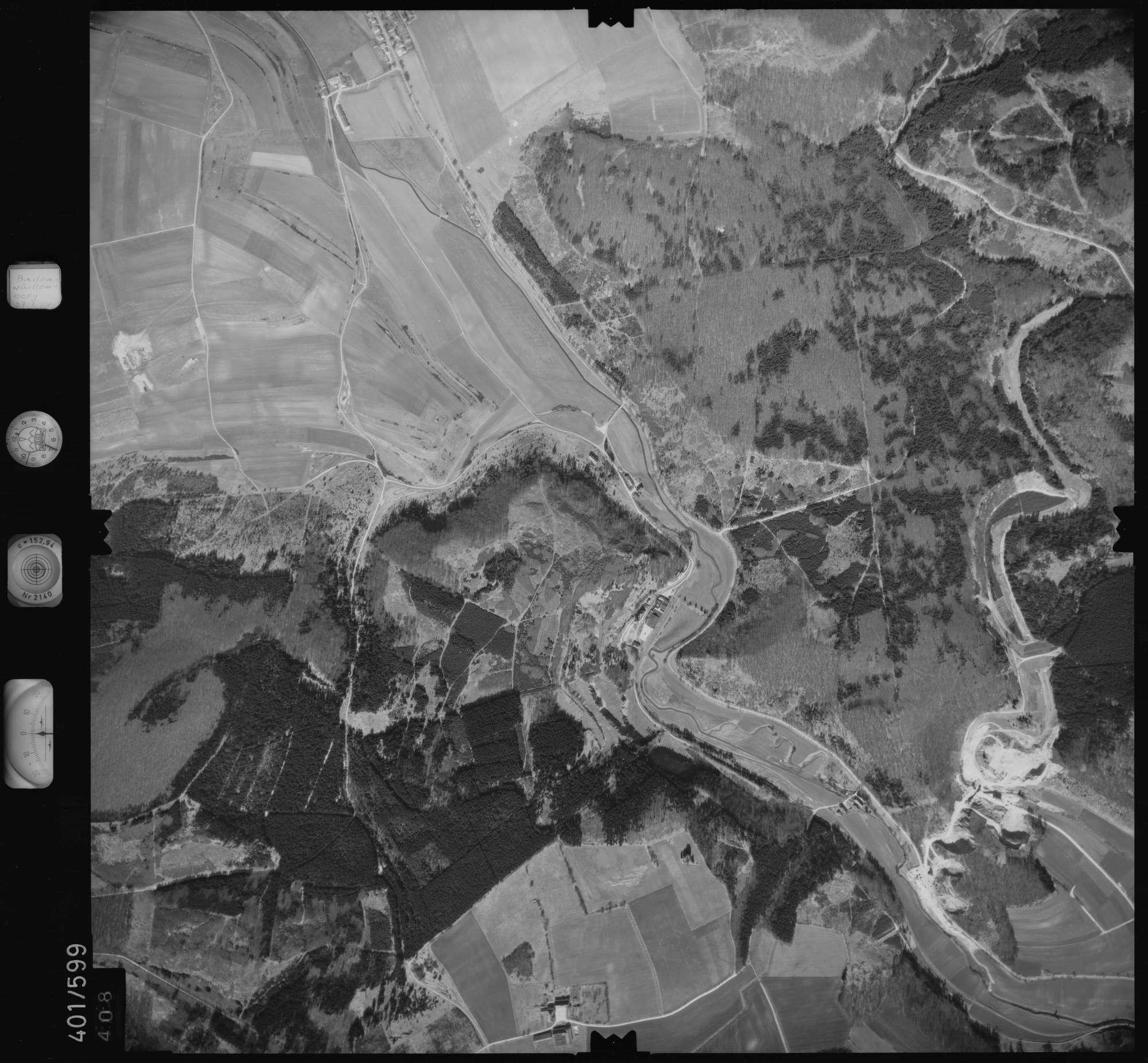 Luftbild: Film 10 Bildnr. 408, Bild 1