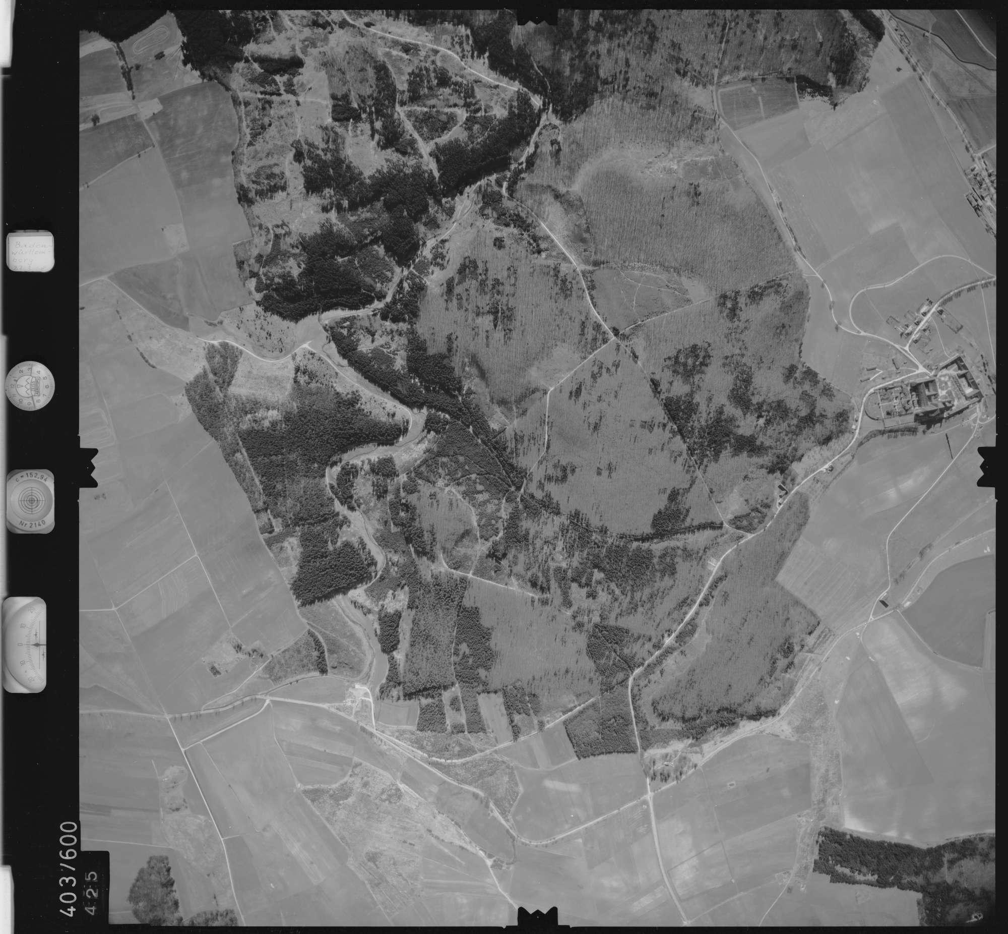 Luftbild: Film 10 Bildnr. 425, Bild 1