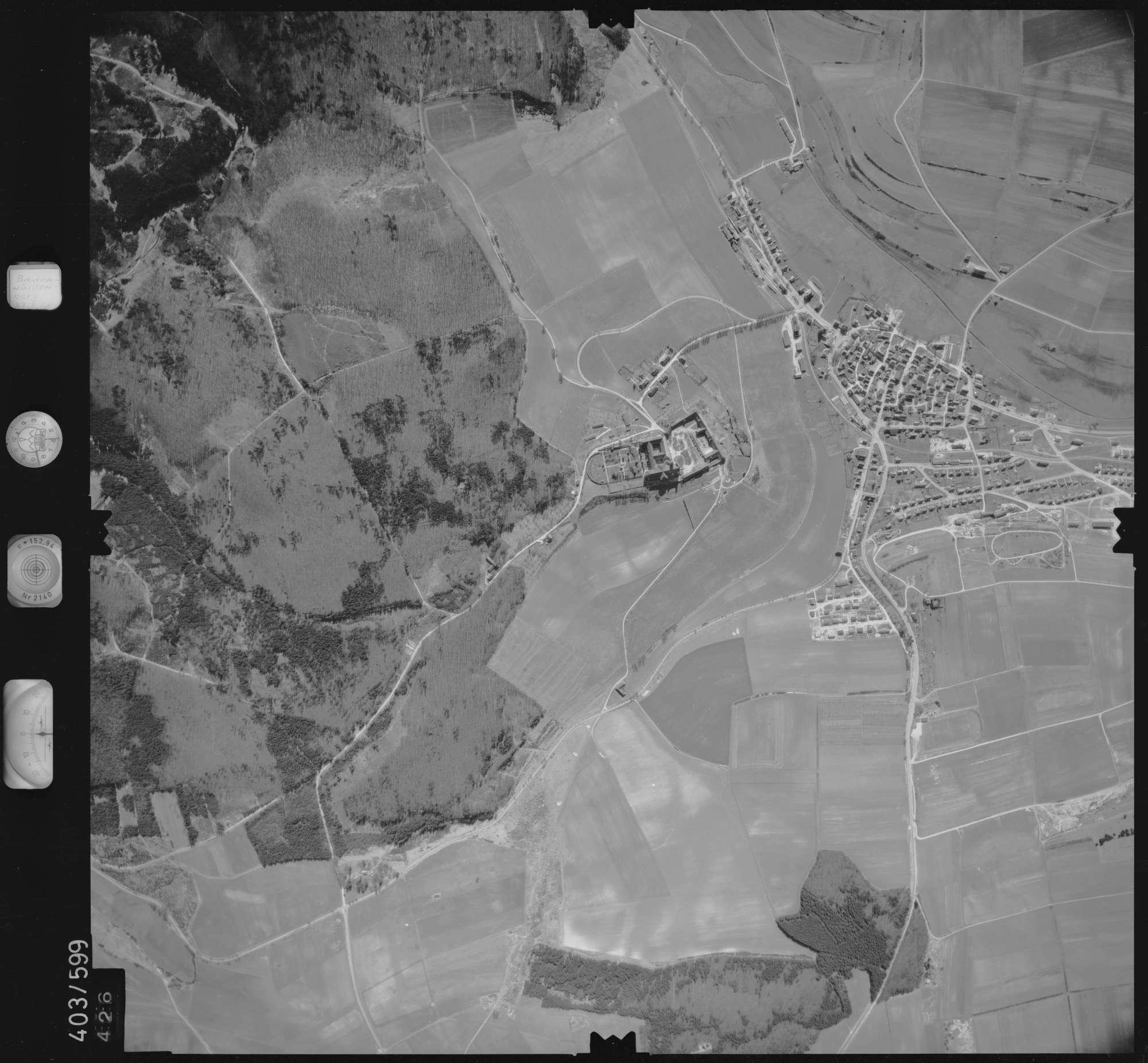 Luftbild: Film 10 Bildnr. 426, Bild 1