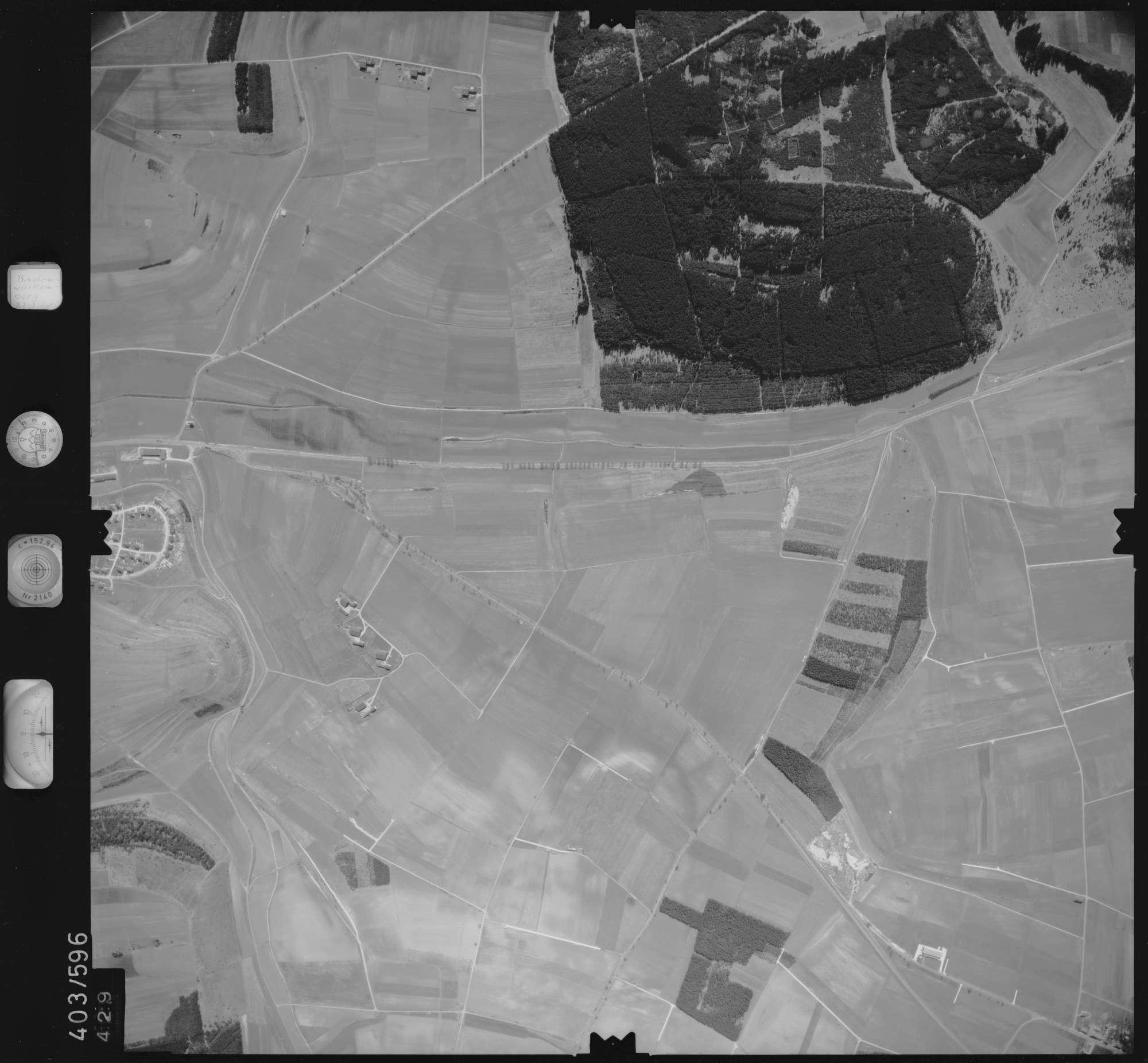 Luftbild: Film 10 Bildnr. 429, Bild 1