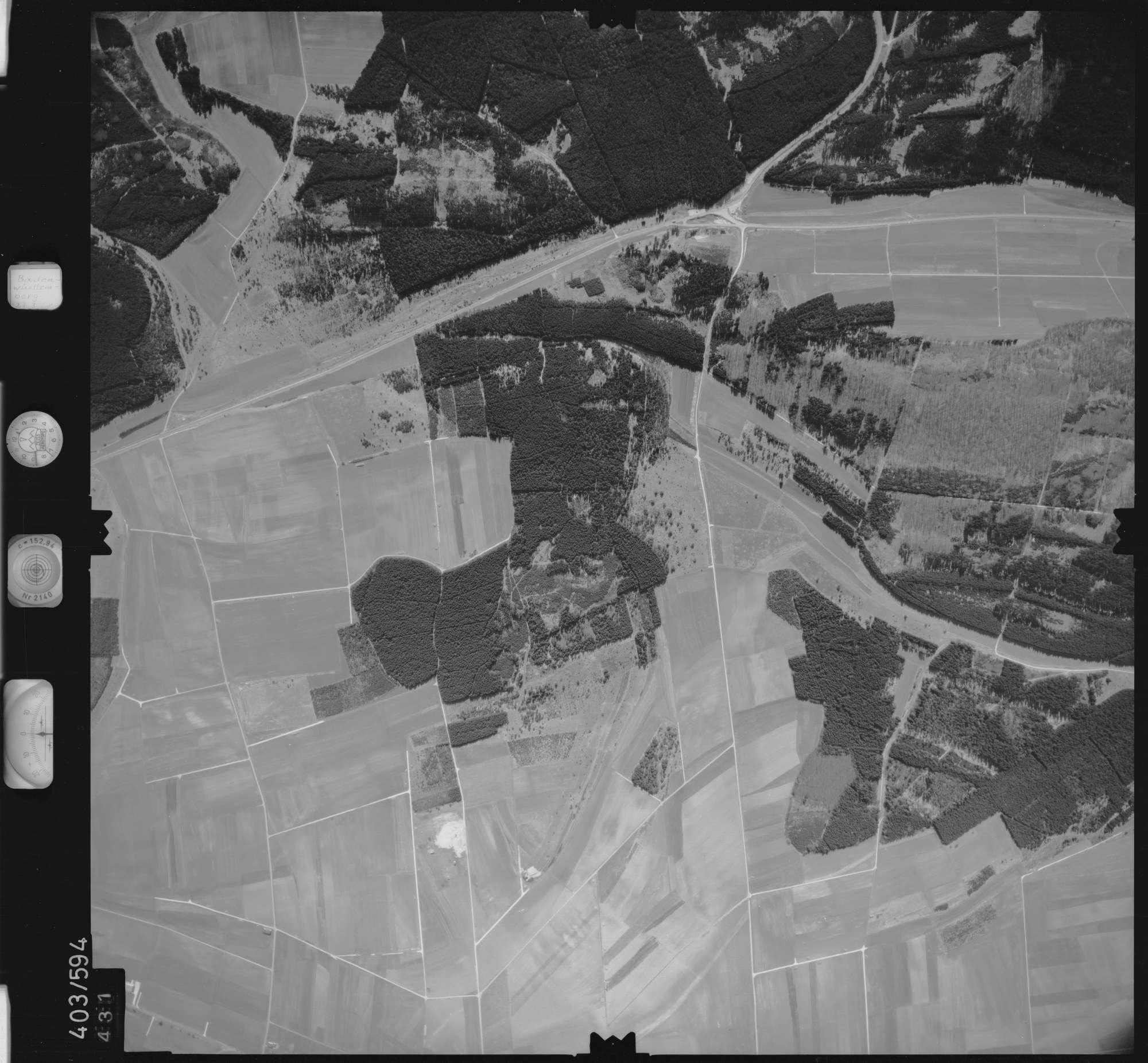 Luftbild: Film 10 Bildnr. 431, Bild 1