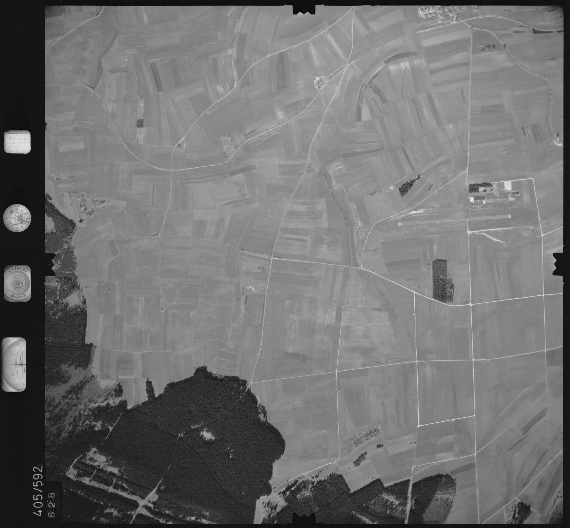 Luftbild: Film 10 Bildnr. 628, Bild 1