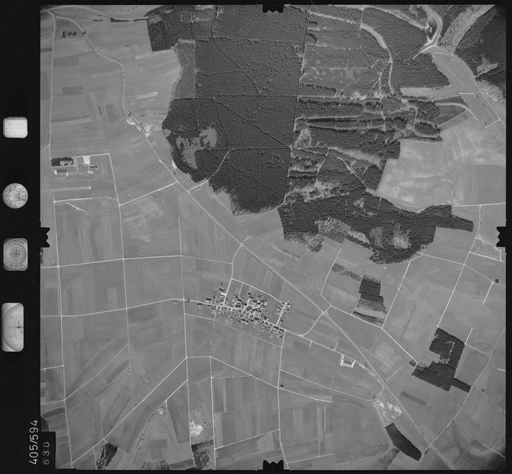 Luftbild: Film 10 Bildnr. 630, Bild 1
