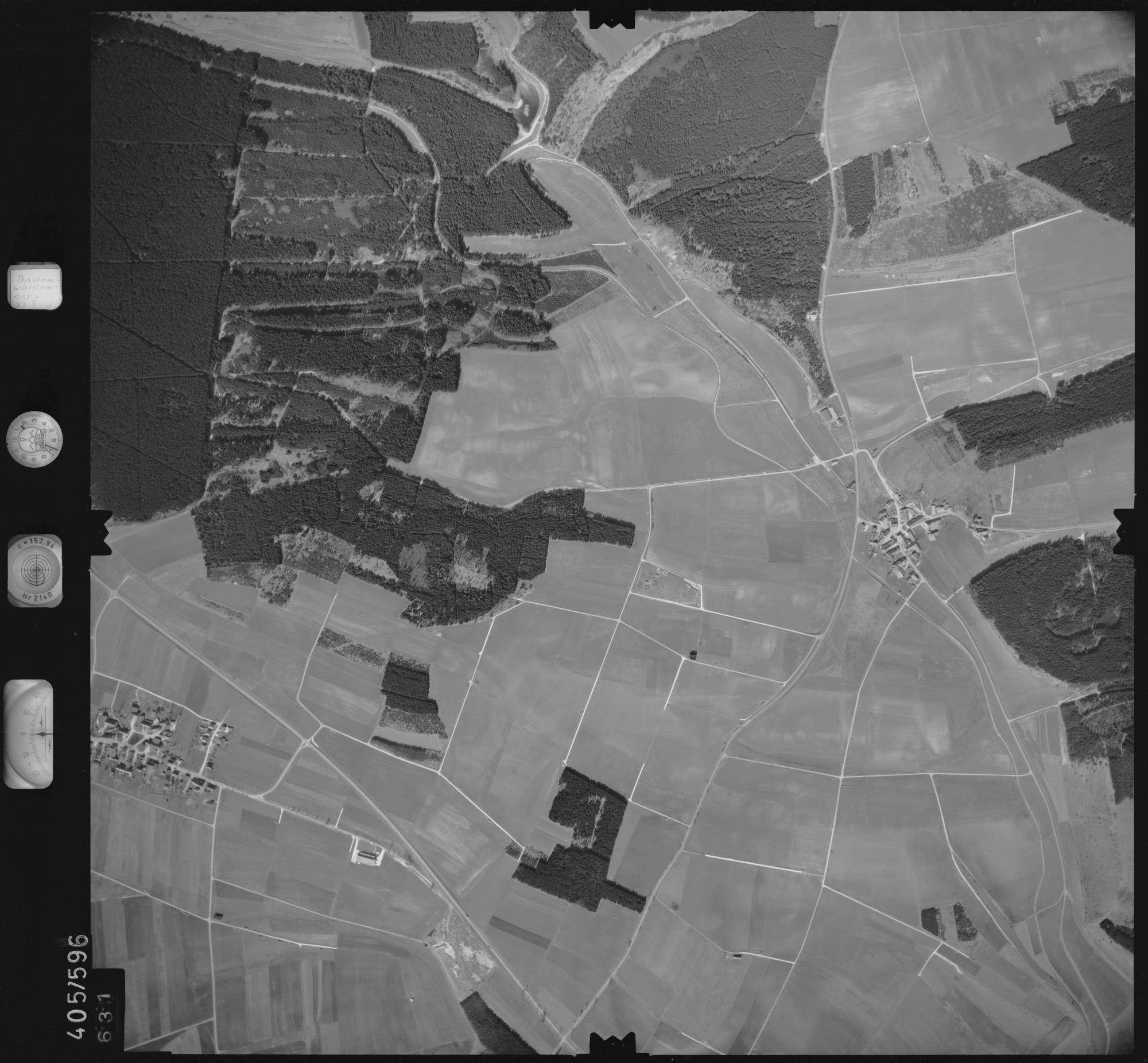 Luftbild: Film 10 Bildnr. 631, Bild 1