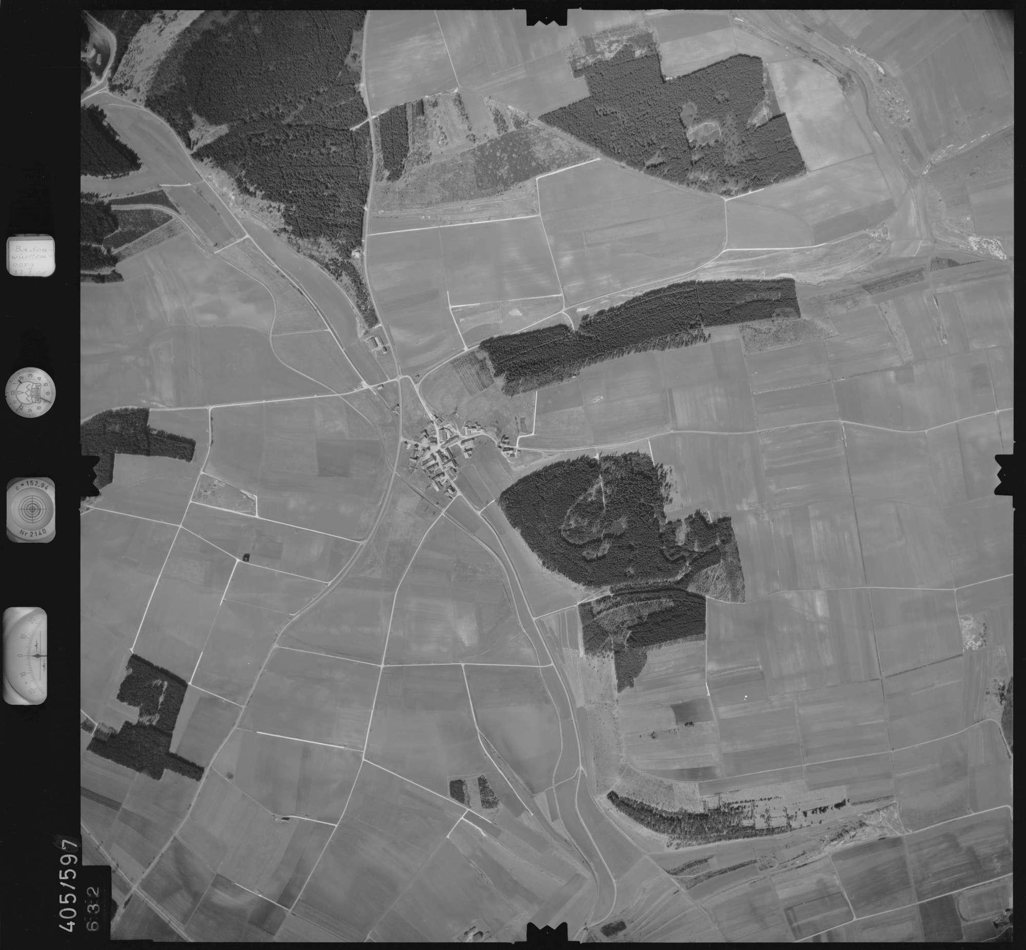 Luftbild: Film 10 Bildnr. 632, Bild 1
