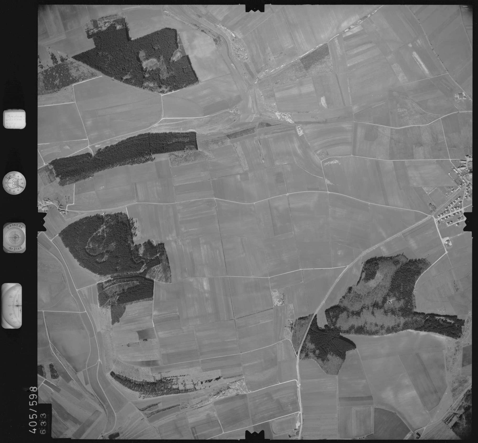Luftbild: Film 10 Bildnr. 633, Bild 1