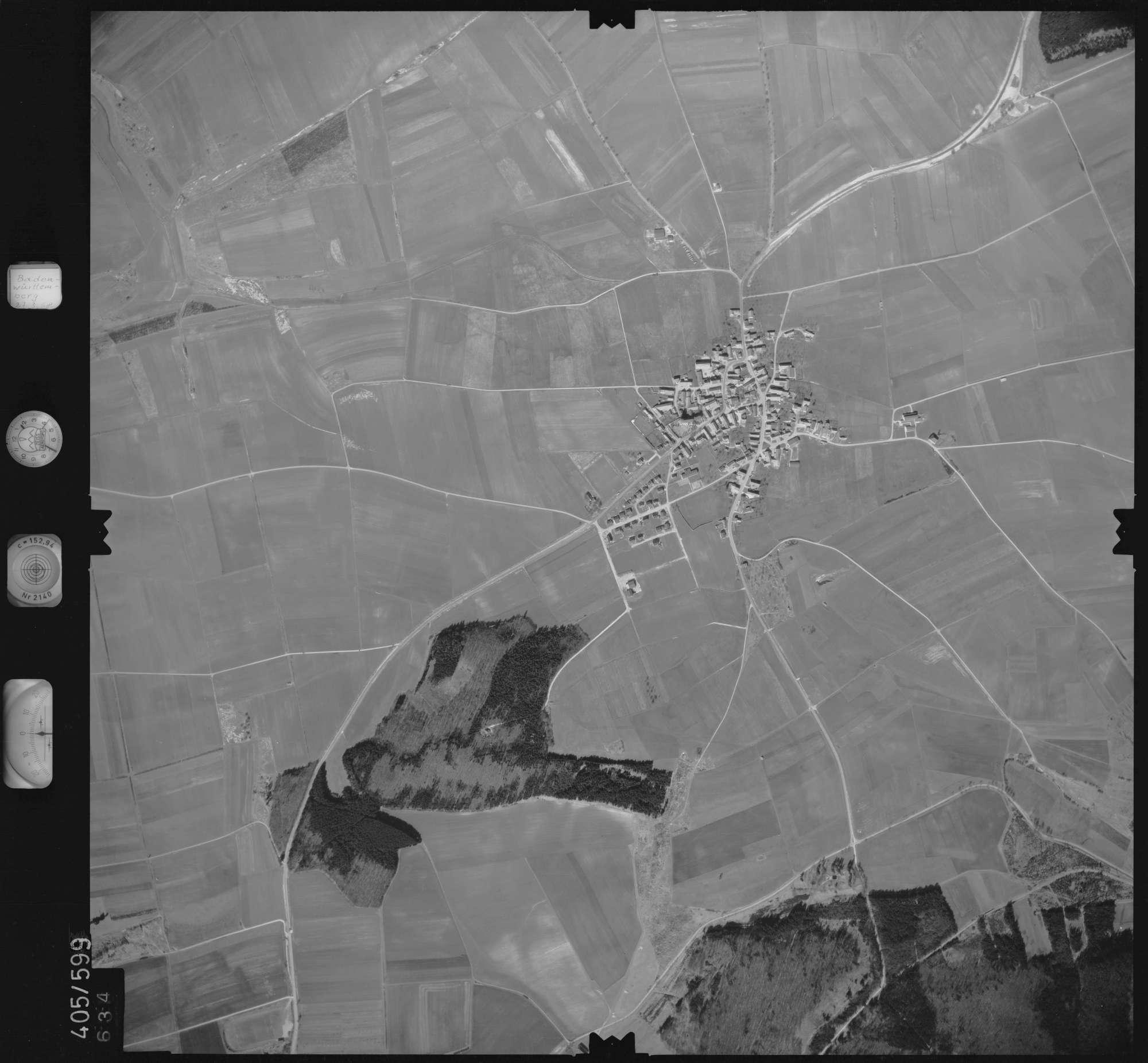 Luftbild: Film 10 Bildnr. 634, Bild 1