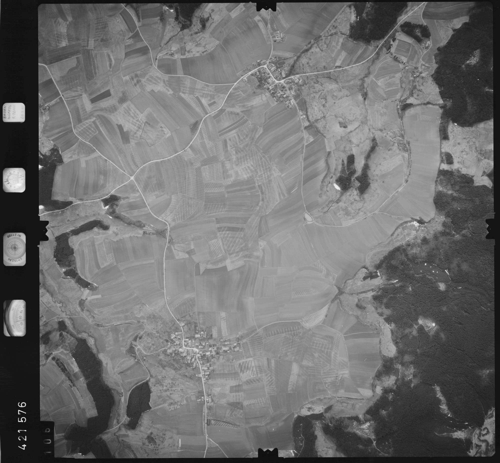 Luftbild: Film 1 Bildnr. 106, Bild 1