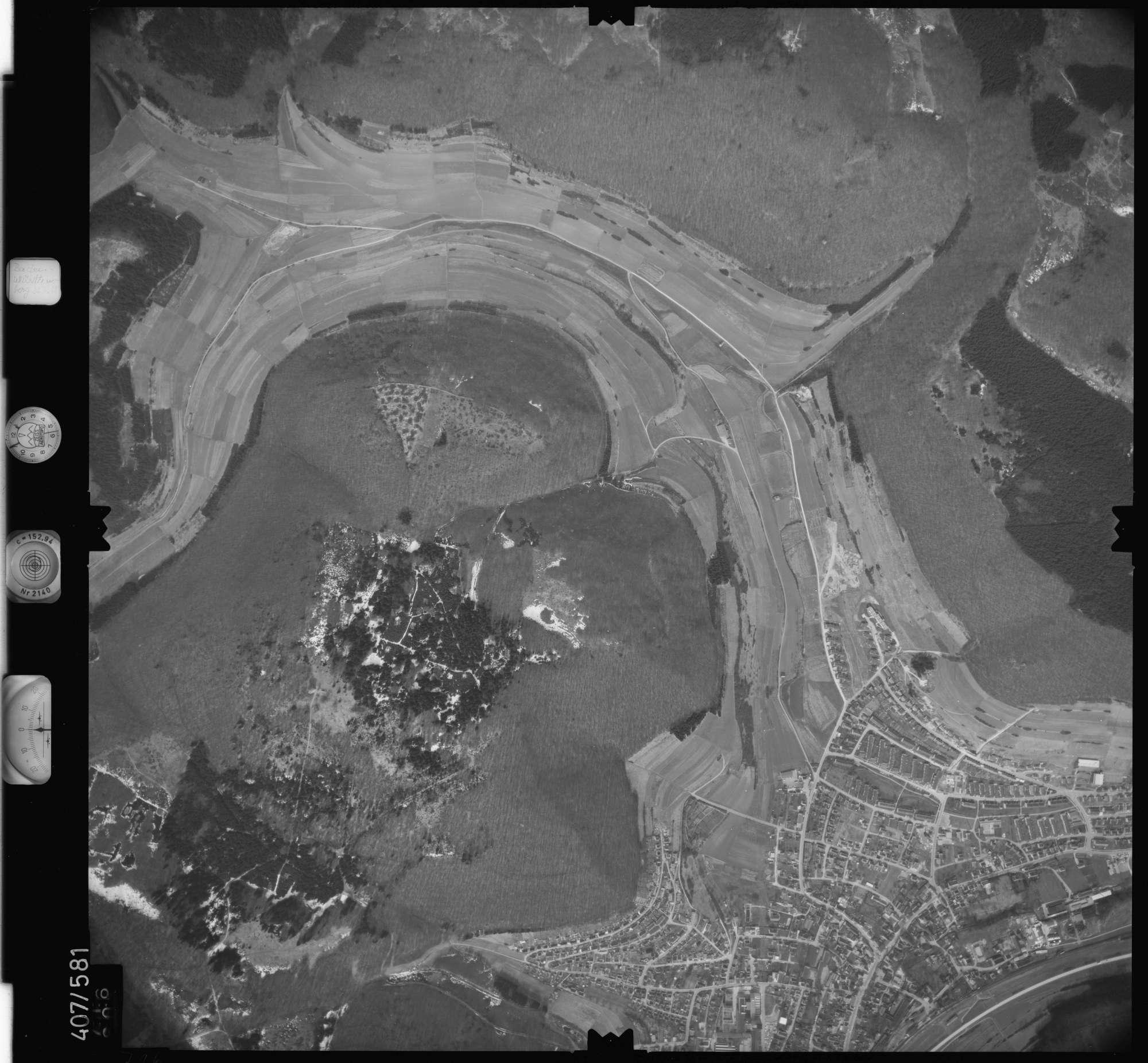 Luftbild: Film 7 Bildnr. 716, Bild 1