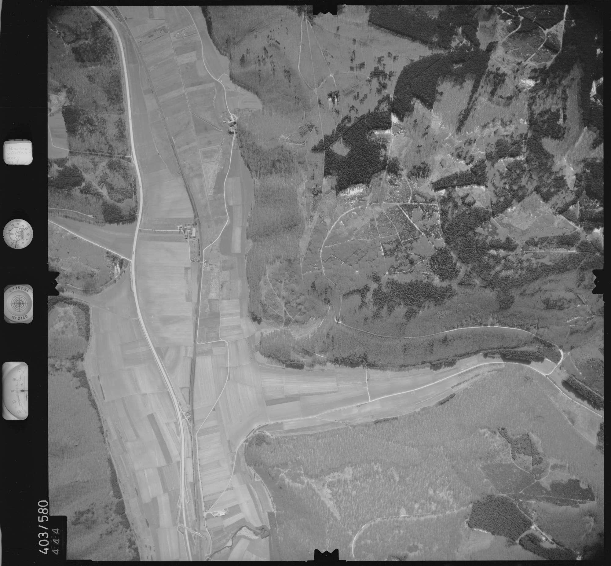 Luftbild: Film 10 Bildnr. 444, Bild 1