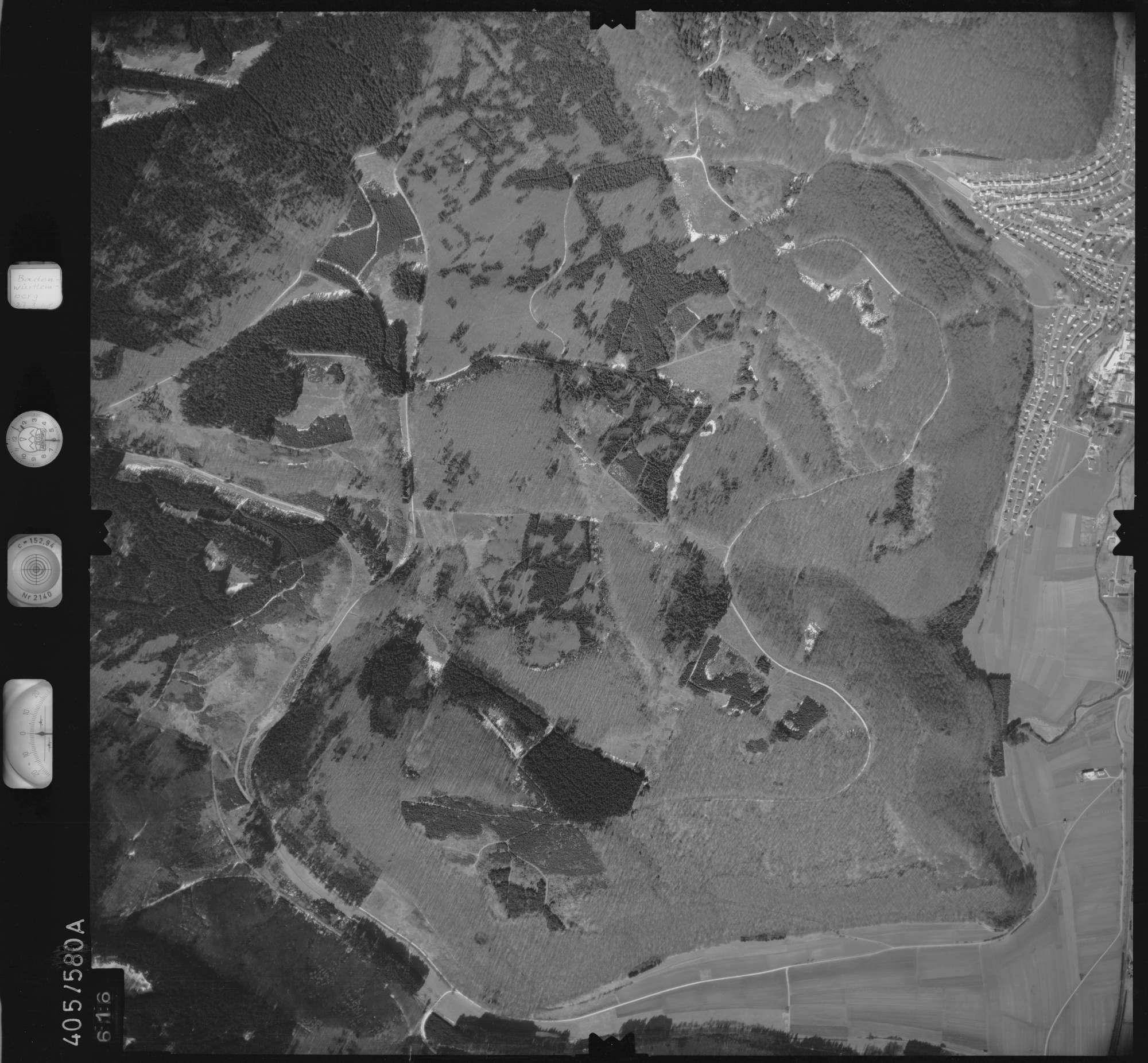 Luftbild: Film 10 Bildnr. 616, Bild 1