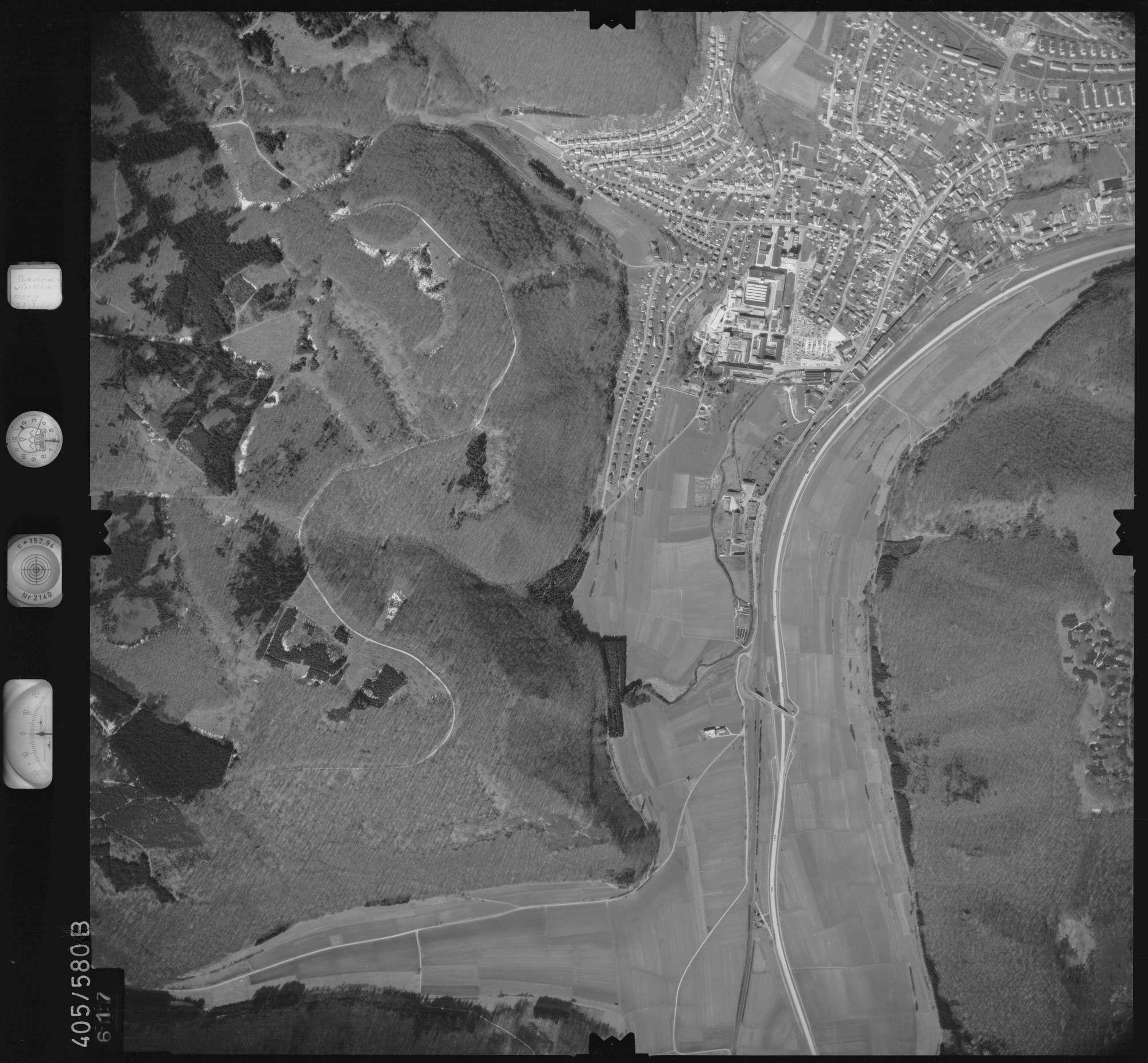Luftbild: Film 10 Bildnr. 617, Bild 1