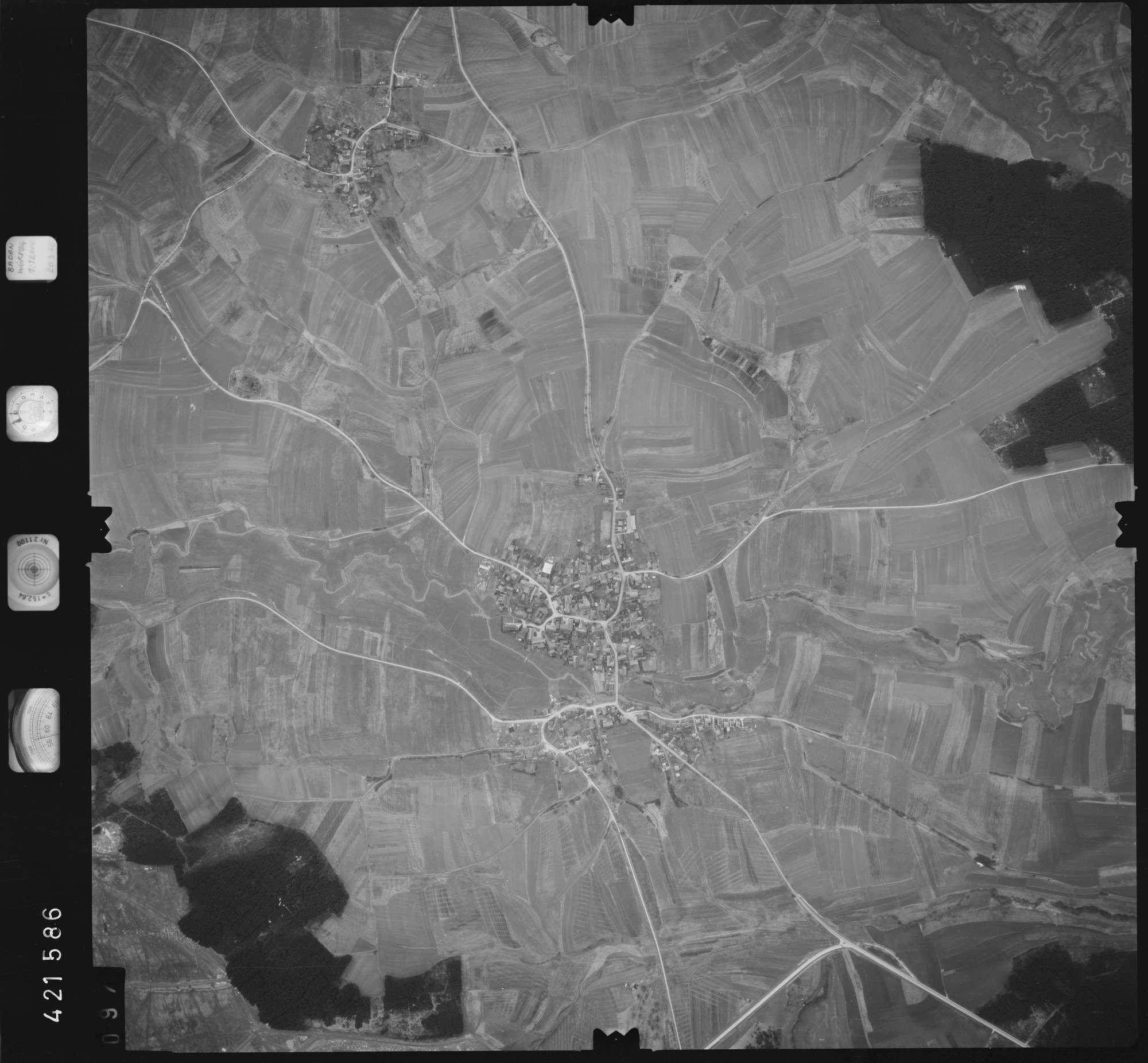 Luftbild: Film 1 Bildnr. 97, Bild 1