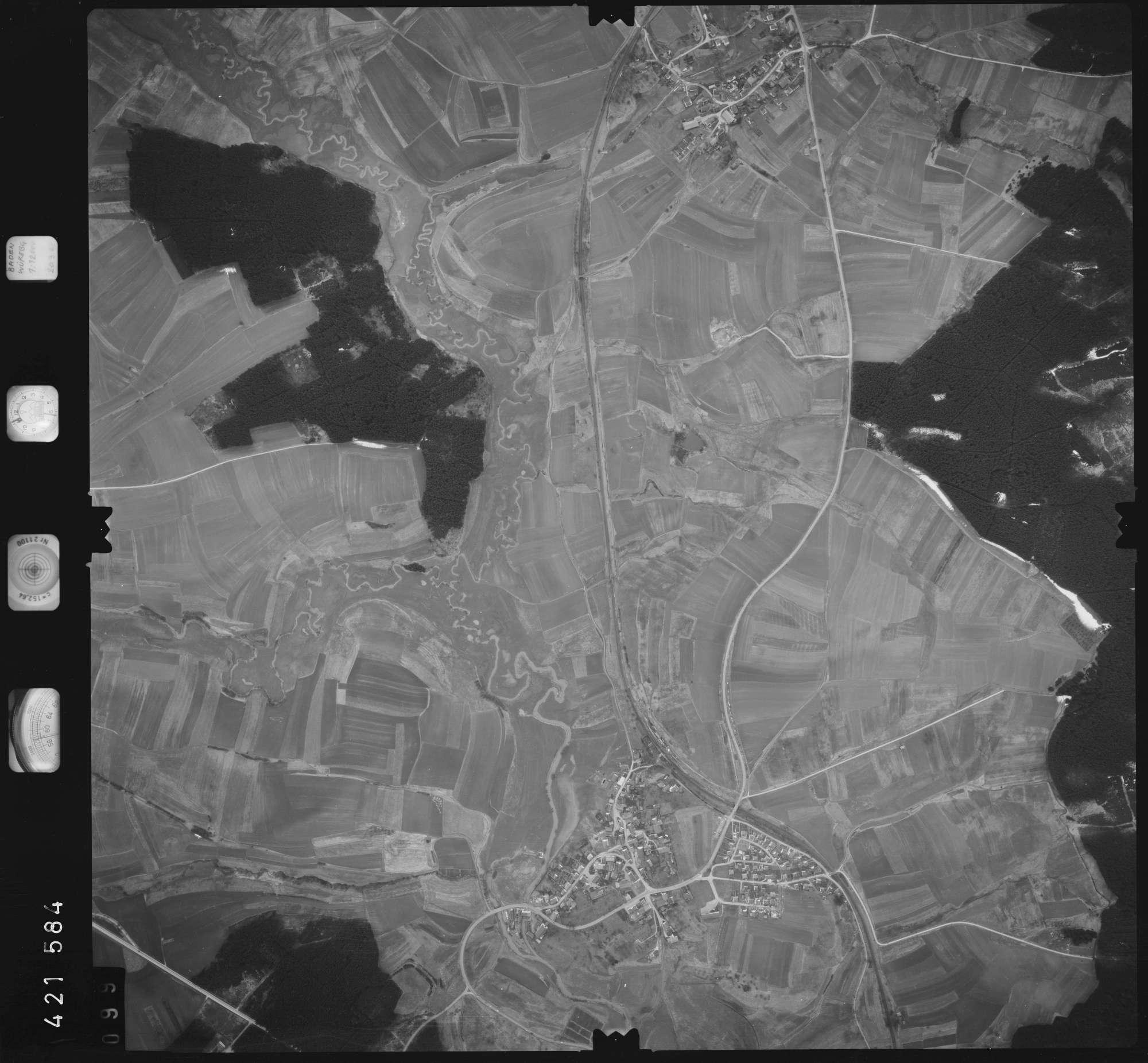 Luftbild: Film 1 Bildnr. 99, Bild 1