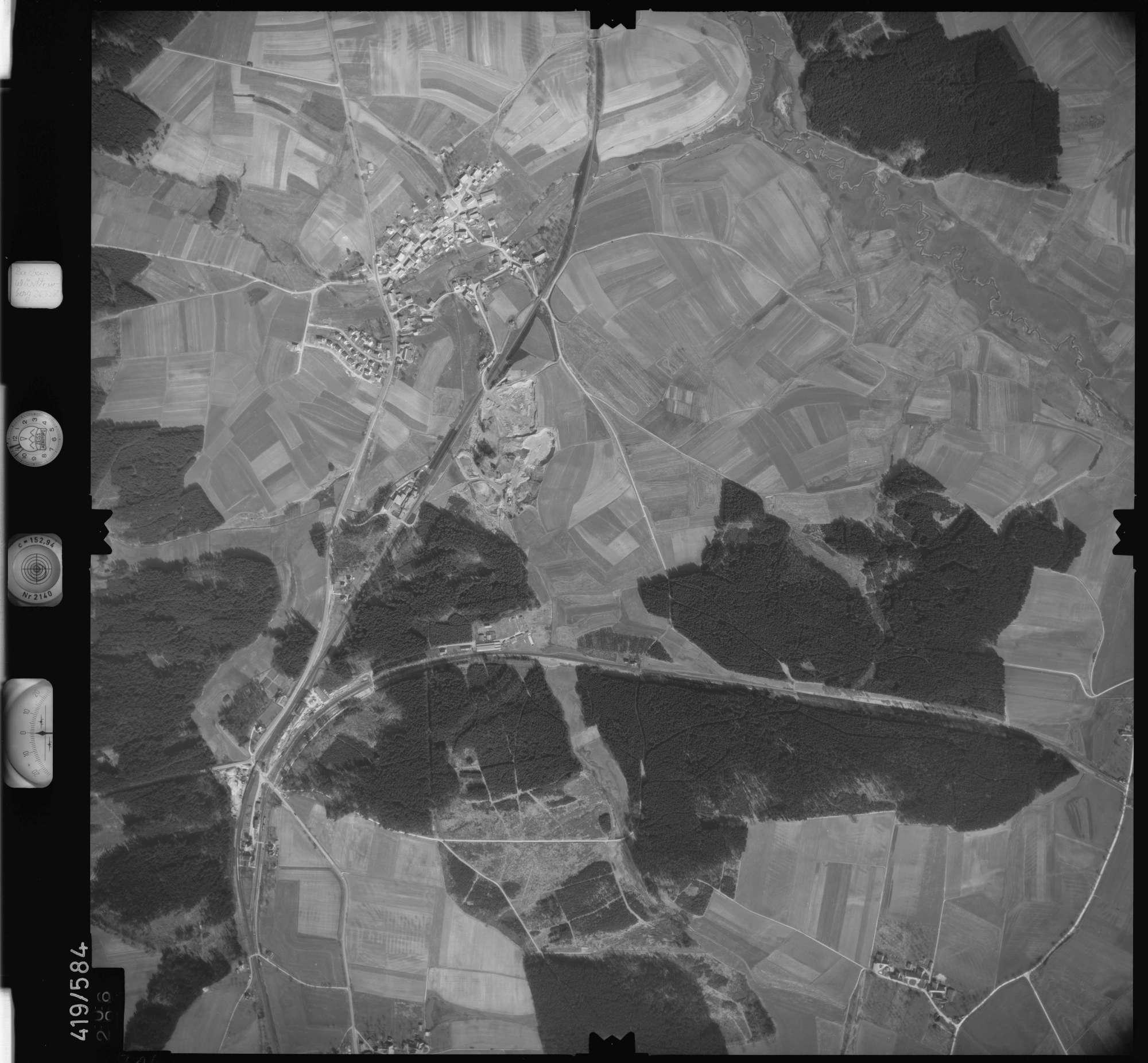 Luftbild: Film 6 Bildnr. 306, Bild 1