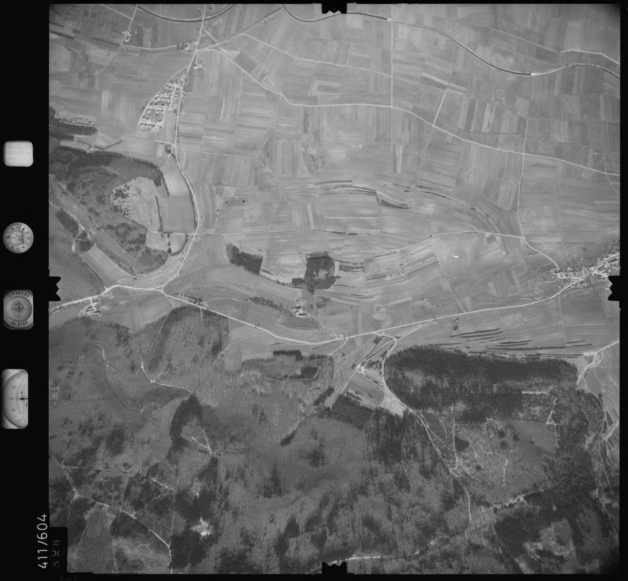 Luftbild: Film 7 Bildnr. 608, Bild 1