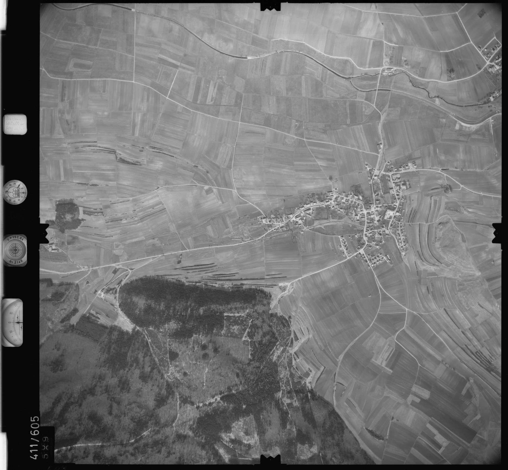 Luftbild: Film 7 Bildnr. 609, Bild 1