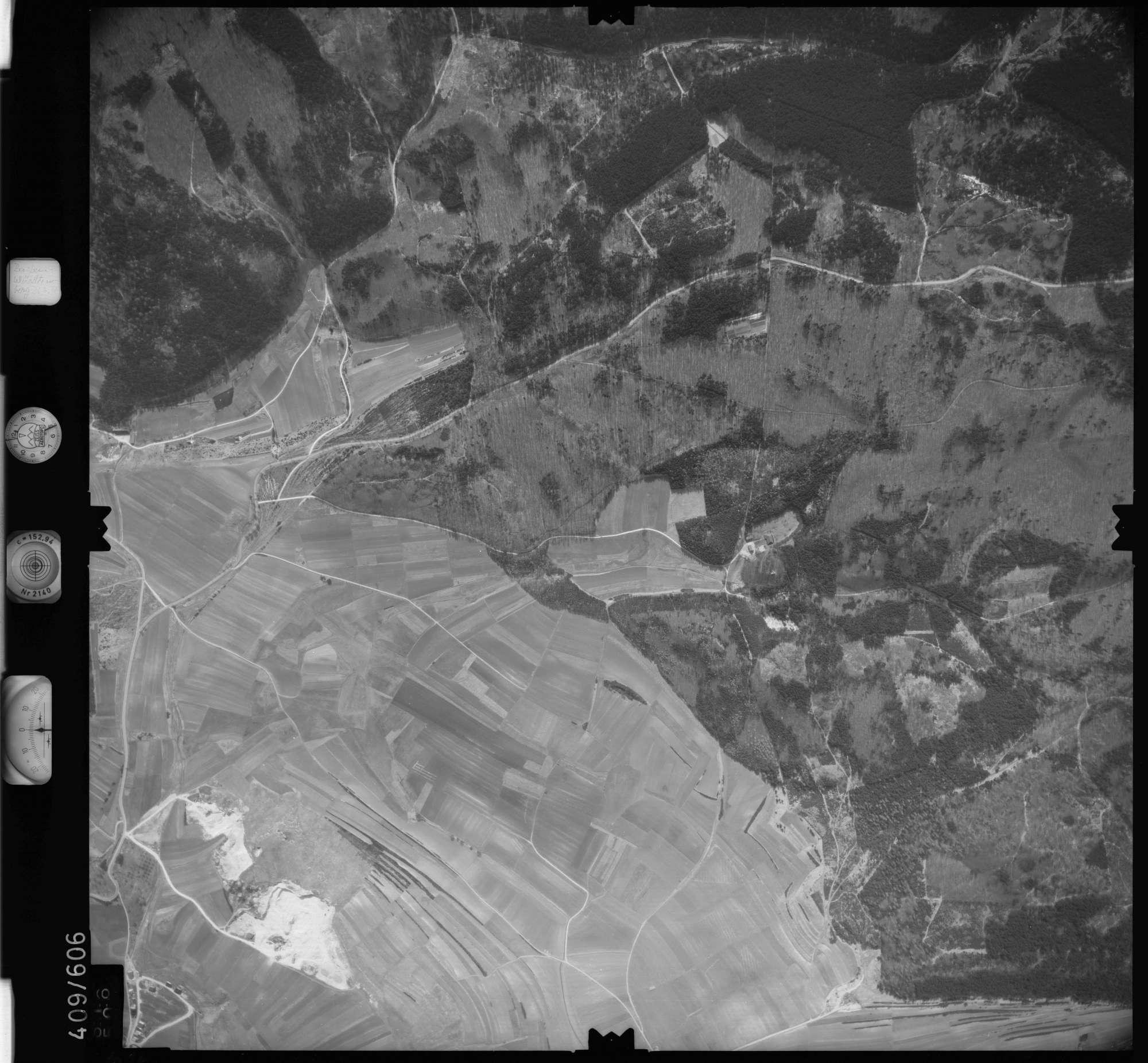 Luftbild: Film 7 Bildnr. 616, Bild 1