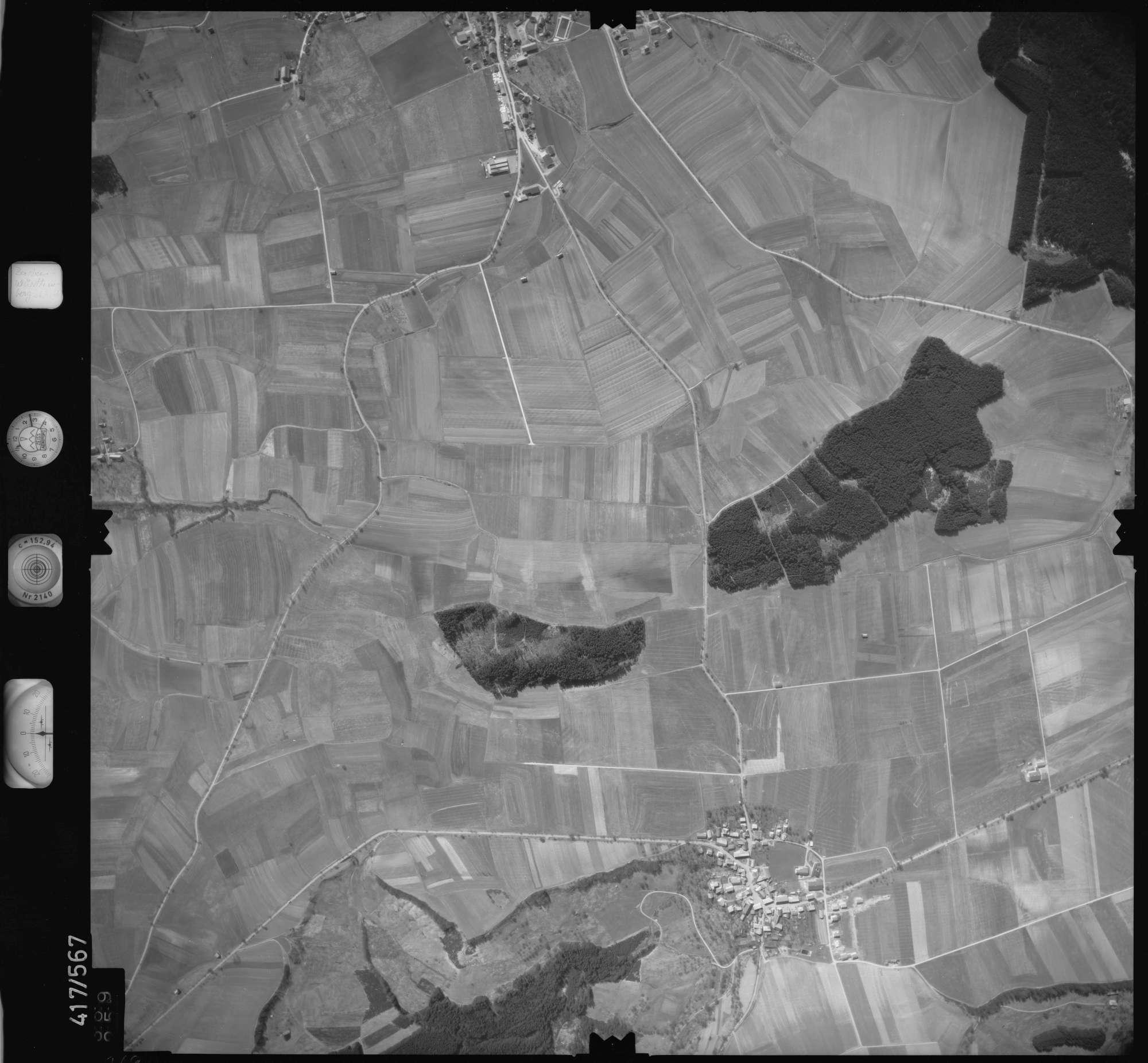 Luftbild: Film 6 Bildnr. 369, Bild 1
