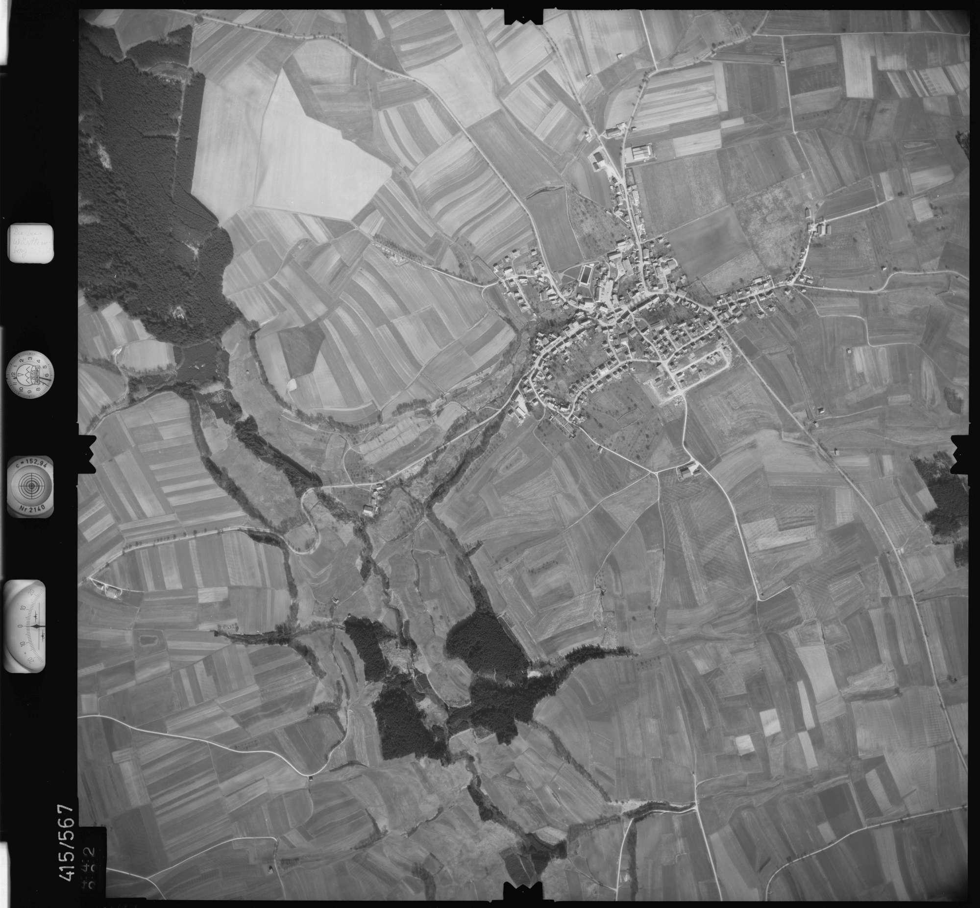 Luftbild: Film 6 Bildnr. 442, Bild 1