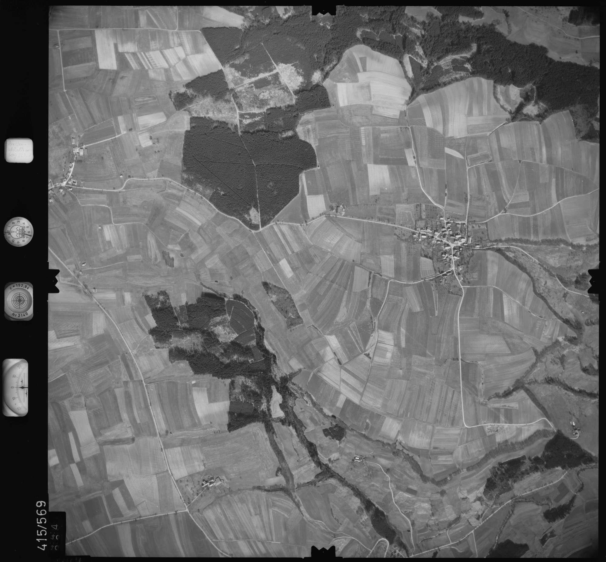 Luftbild: Film 6 Bildnr. 444, Bild 1