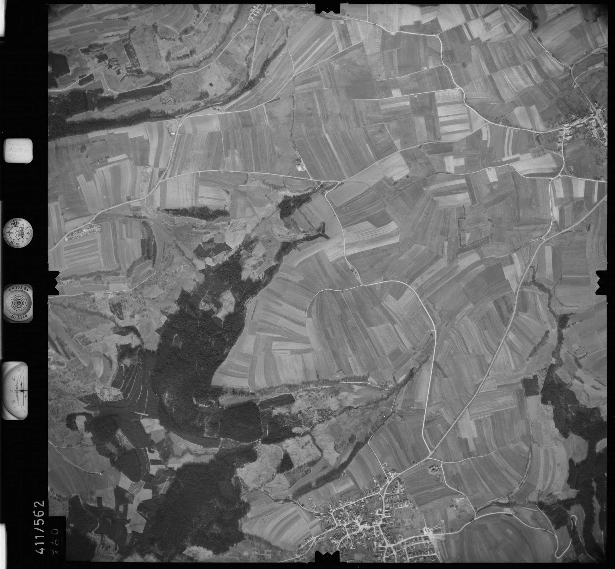 Luftbild: Film 7 Bildnr. 570, Bild 1