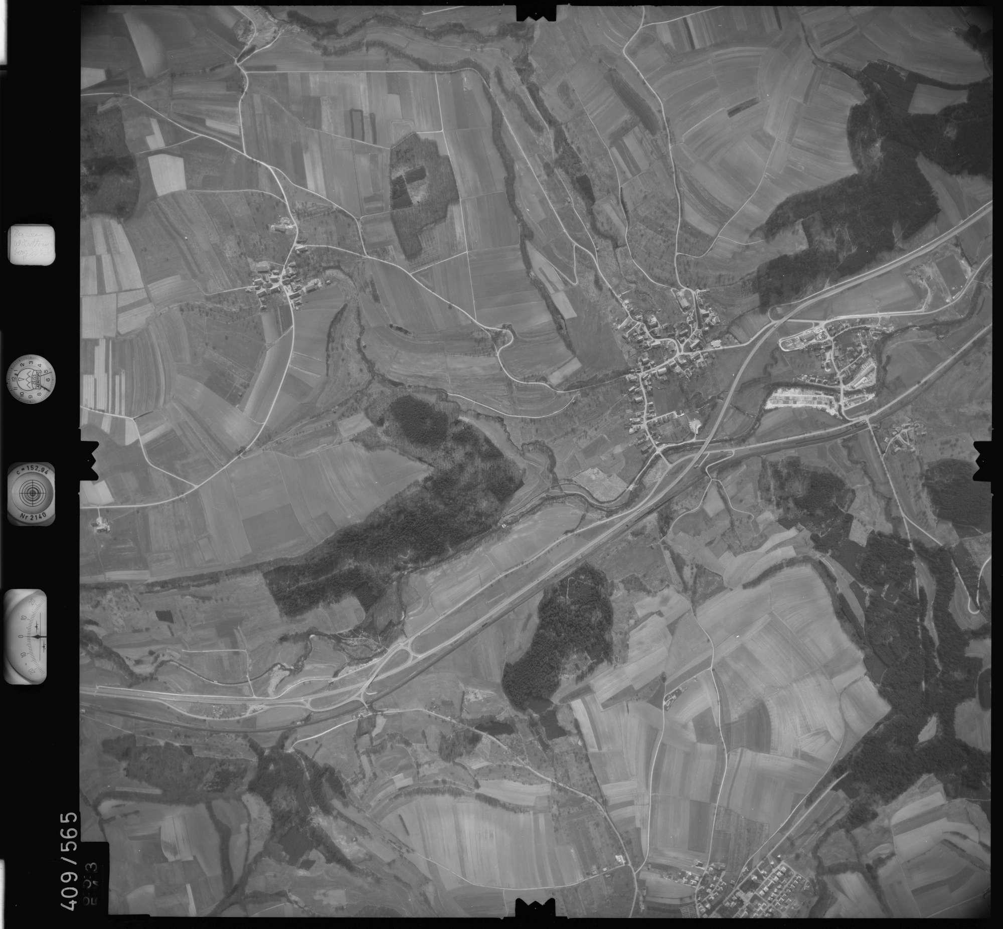 Luftbild: Film 7 Bildnr. 653, Bild 1