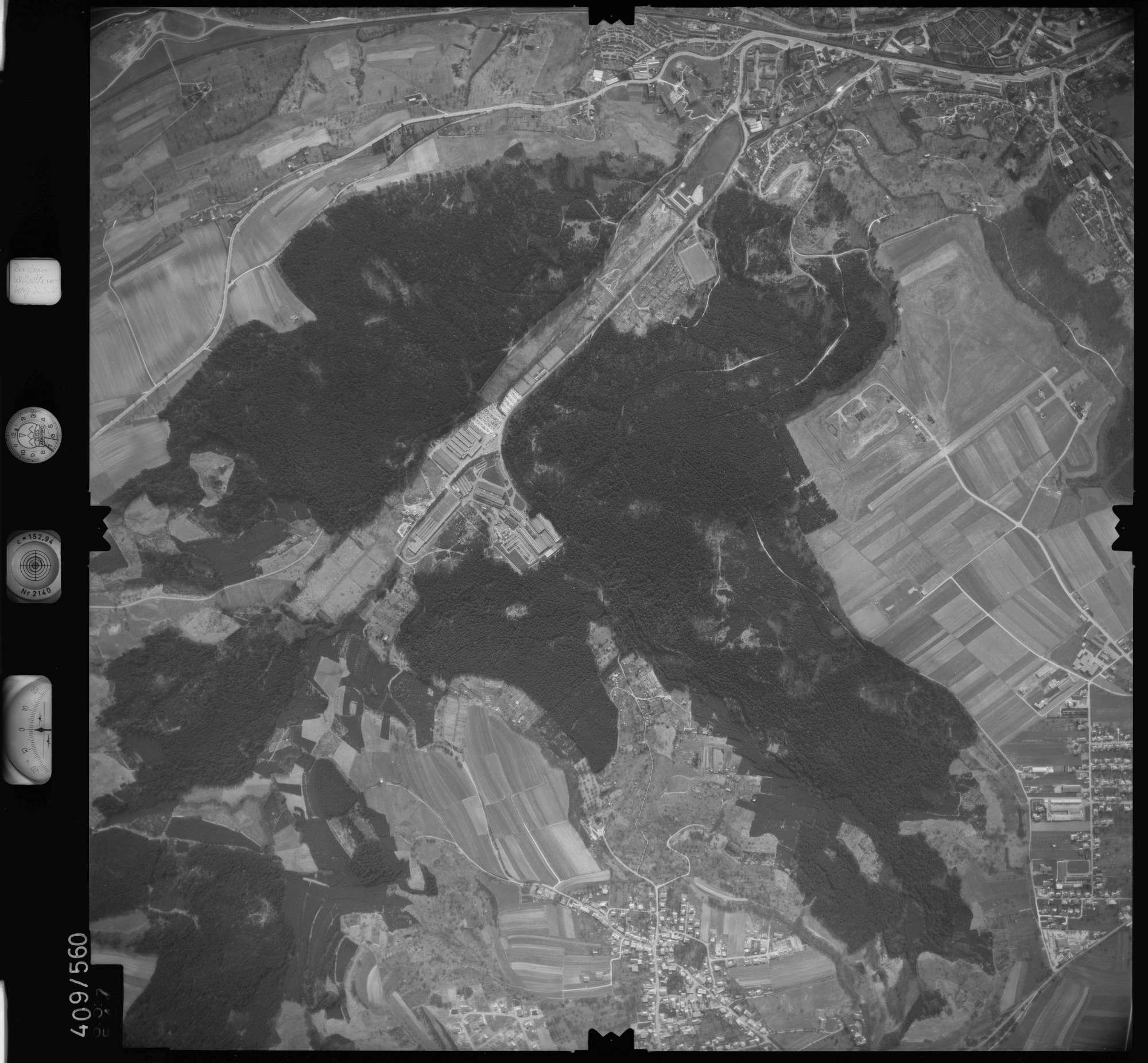 Luftbild: Film 7 Bildnr. 657, Bild 1