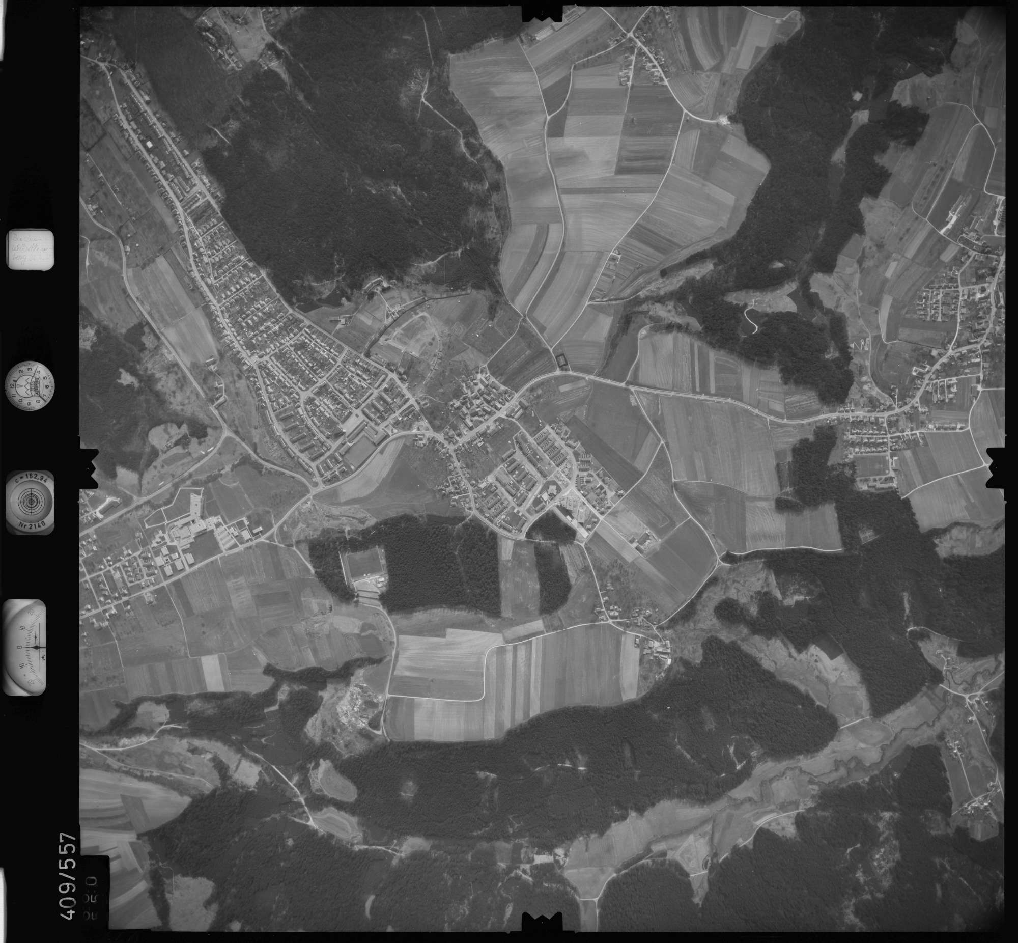 Luftbild: Film 7 Bildnr. 660, Bild 1