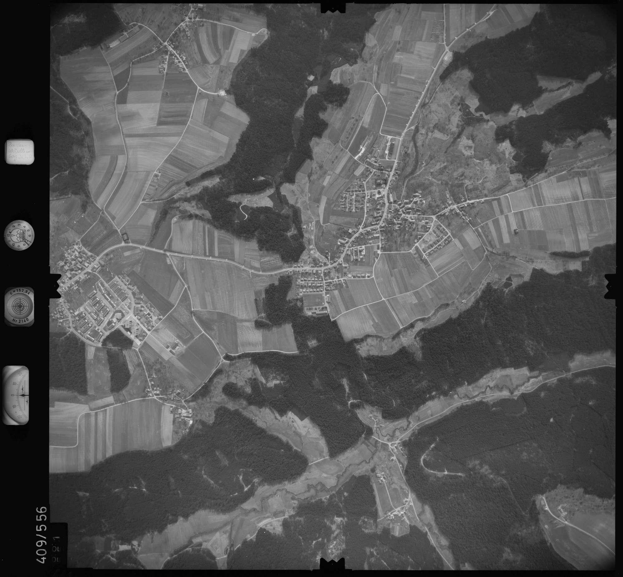 Luftbild: Film 7 Bildnr. 661, Bild 1