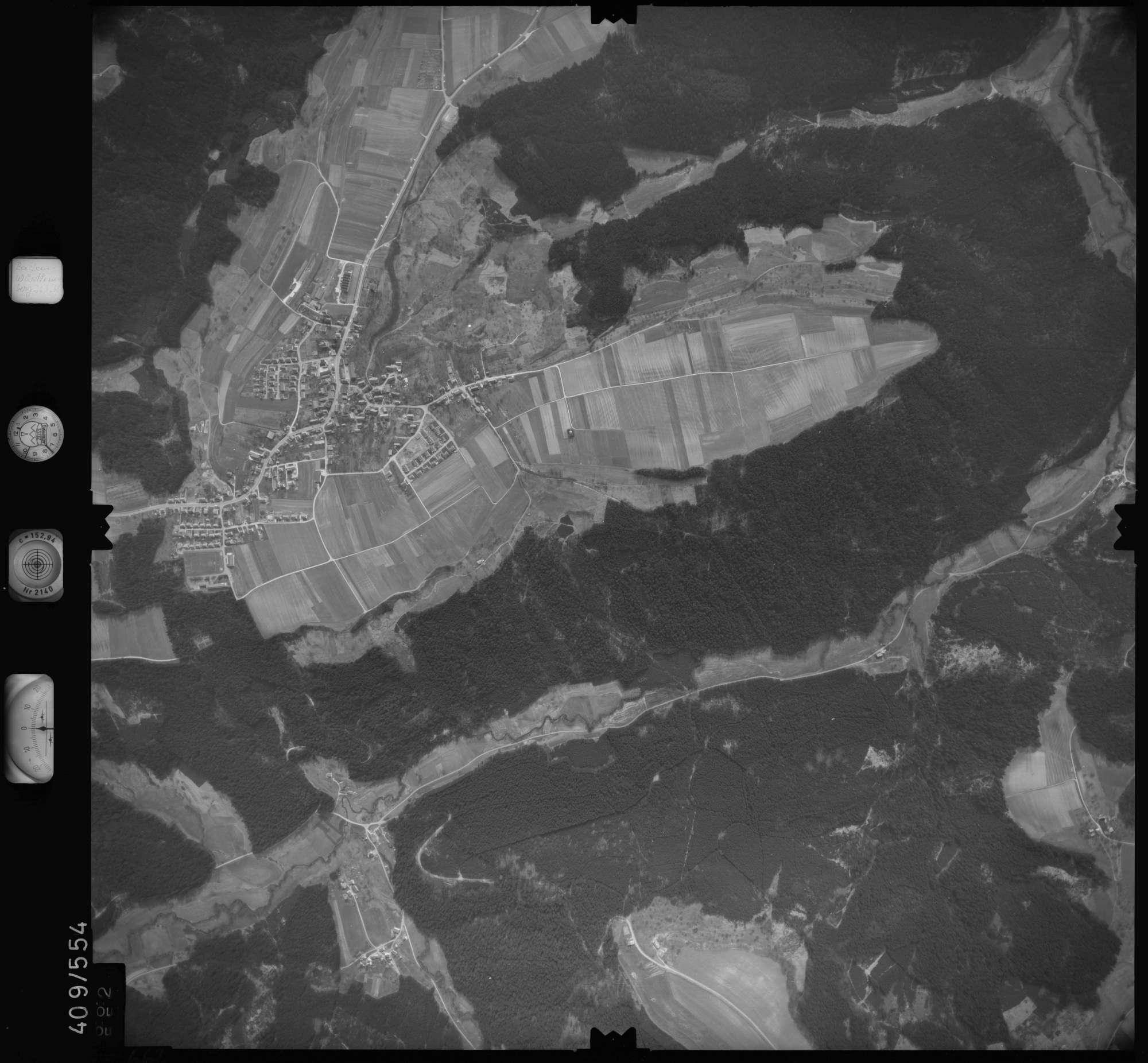 Luftbild: Film 7 Bildnr. 662, Bild 1